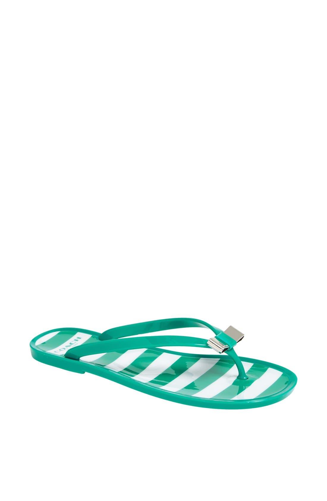 Alternate Image 1 Selected - COACH 'Landon' Flip Flop