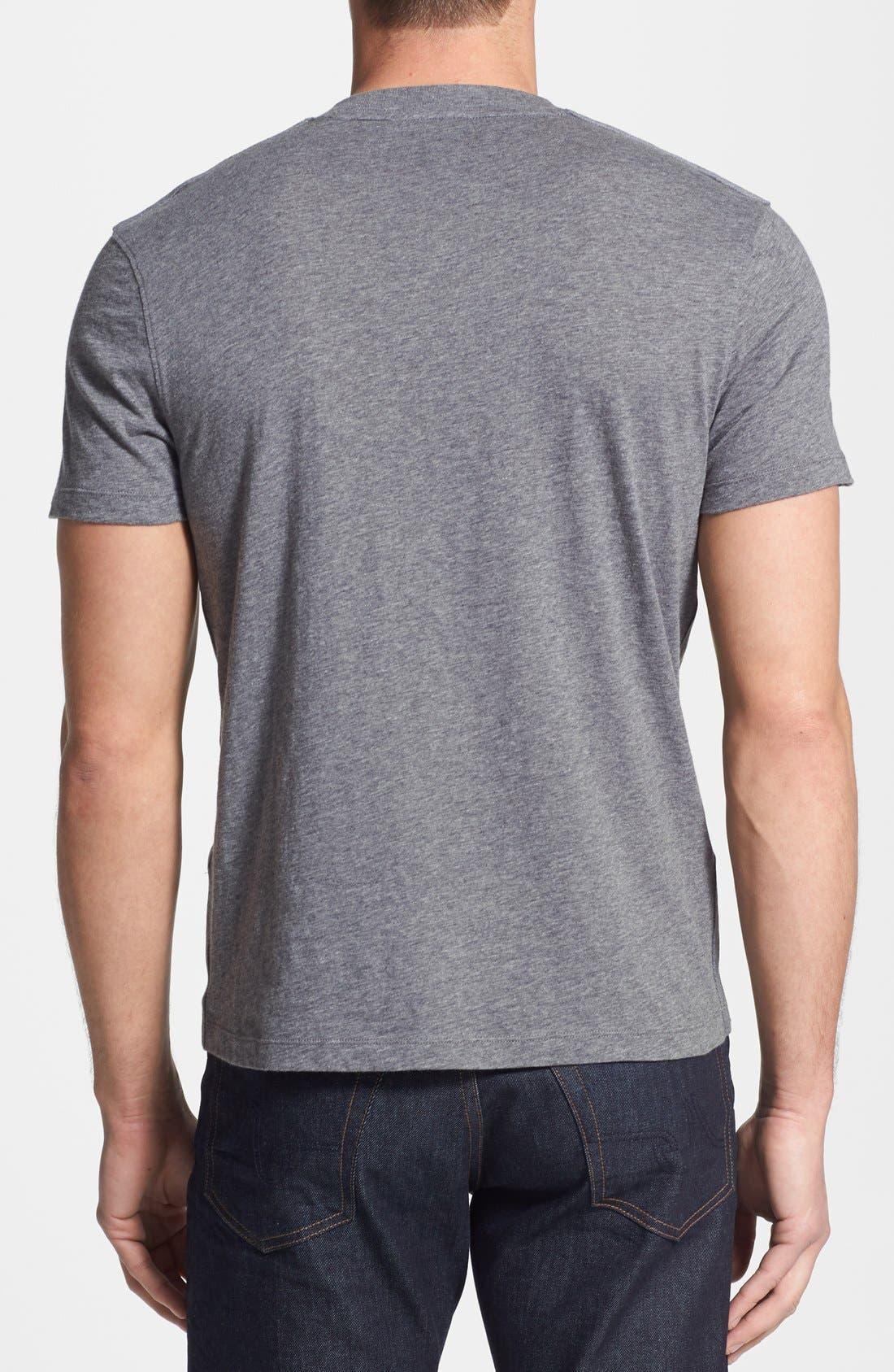 Alternate Image 2  - Michael Kors Camo Pocket Slub T-Shirt