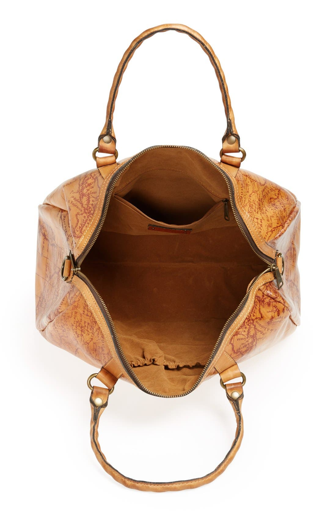 Alternate Image 3  - Patricia Nash 'Stressa' Leather Overnight Bag (16 Inch)