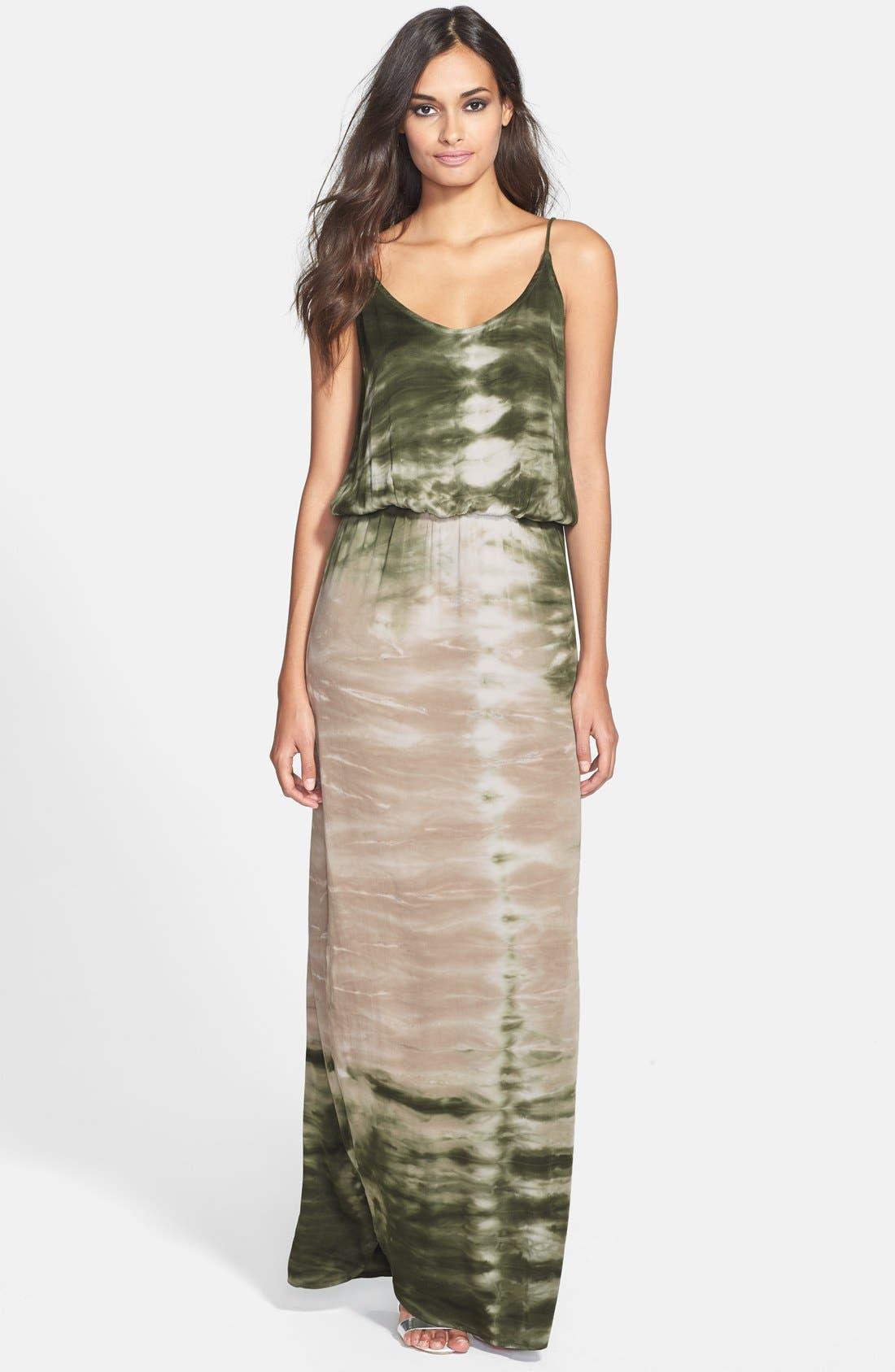 Main Image - Young, Fabulous & Broke 'Holland' Tie Dye Maxi Dress
