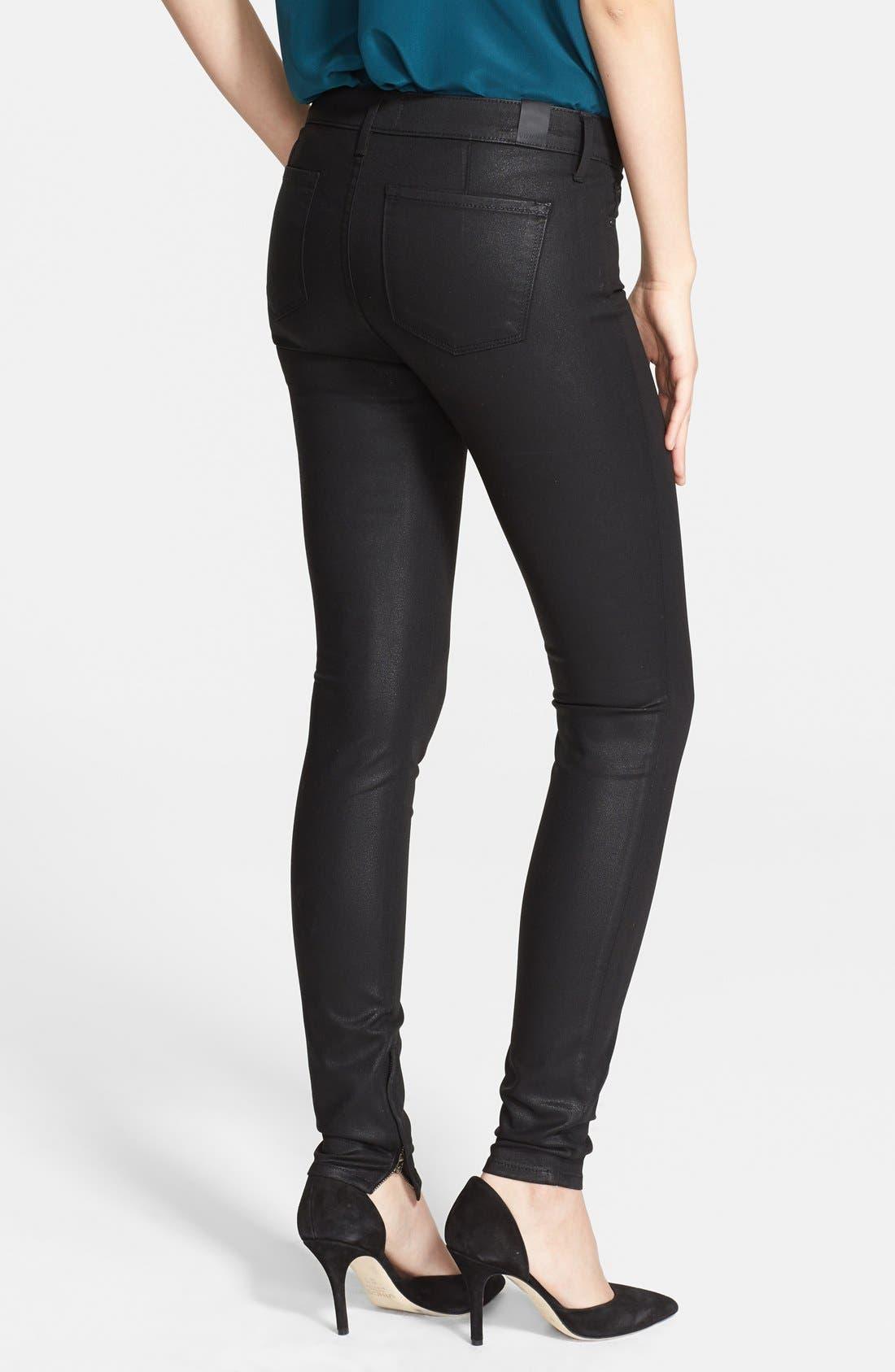 Alternate Image 2  - Vince Zip Ankle Skinny Jeans