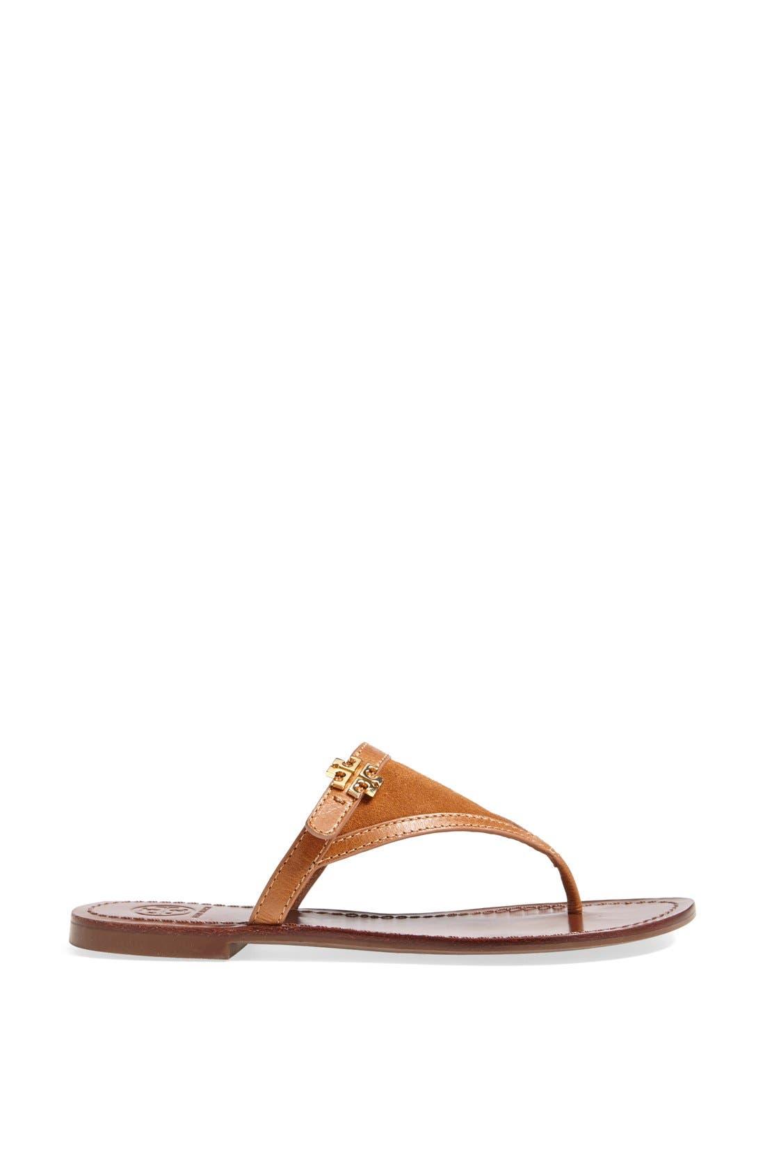 Alternate Image 4  - Tory Burch 'Eloise' Flat Thong Sandal (Nordstrom Exclusive) (Women)