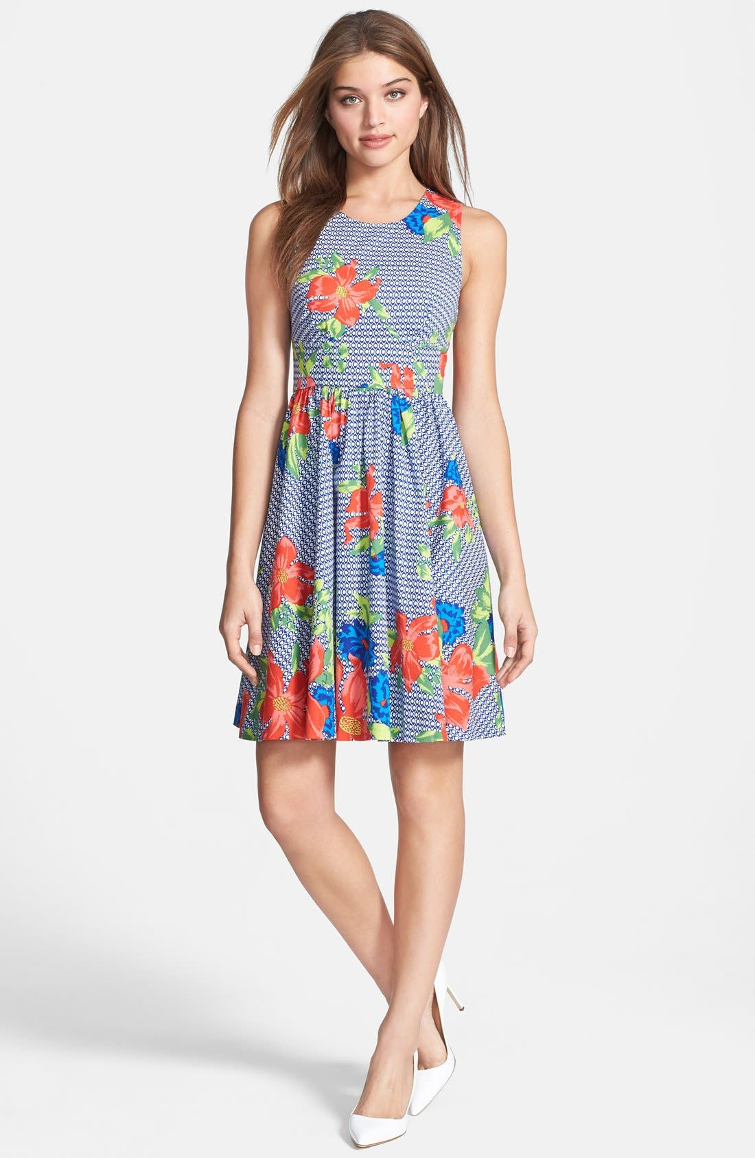Alternate Image 3  - Plenty by Tracy Reese 'Alana' Print Fit & Flare Dress