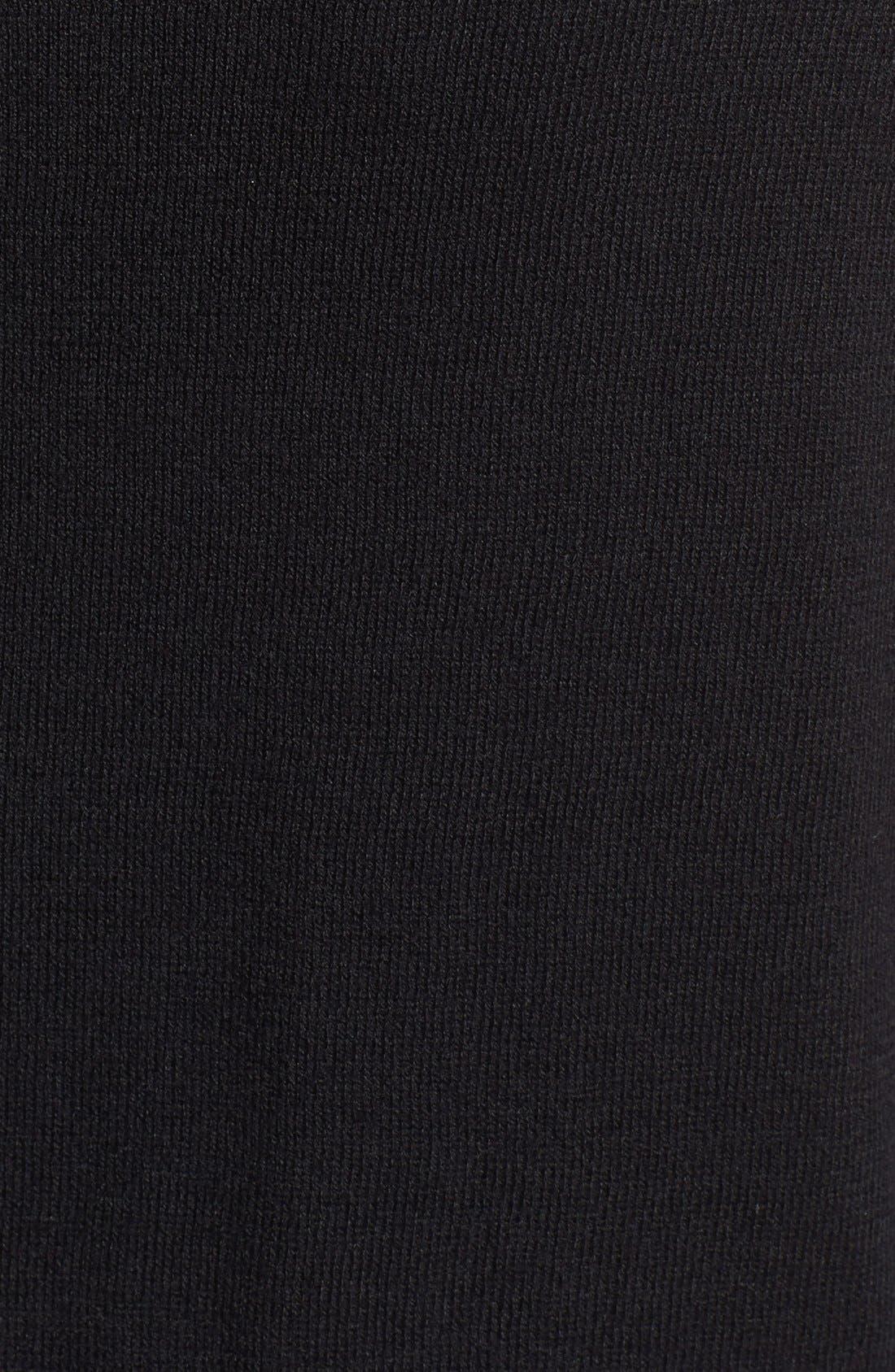 Alternate Image 3  - Vince Camuto Colorblock Cotton Blend Crewneck Cardigan (Petite)