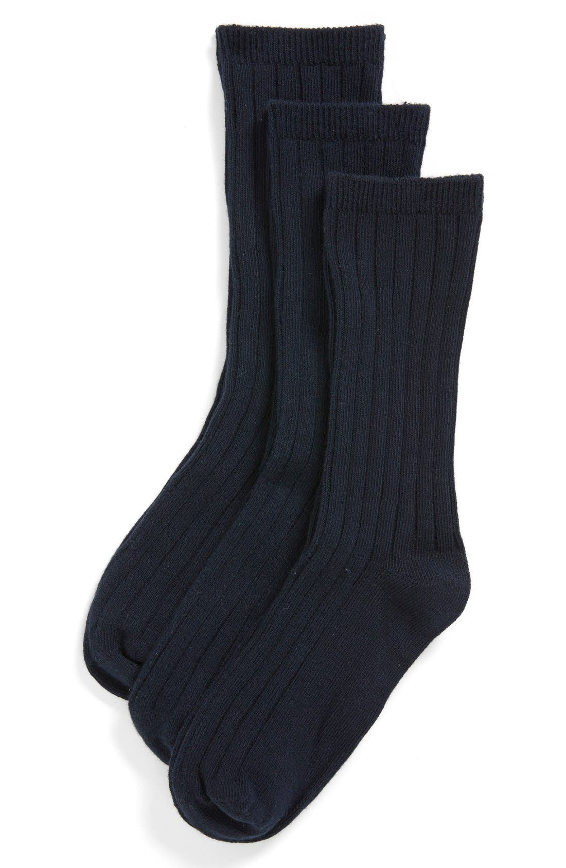 Nordstrom 3-Pack Dress Socks (Toddler Boys, Little Boys & Big Boys)