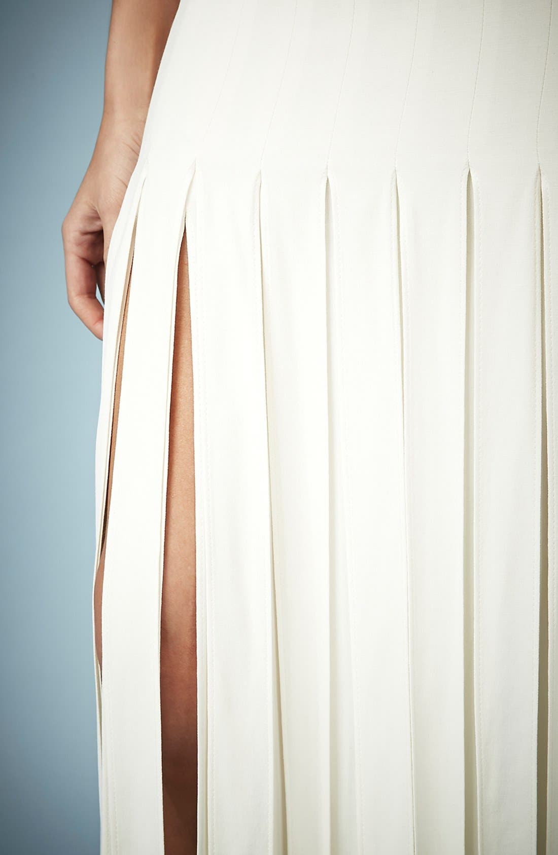 Alternate Image 3  - Kate Moss for Topshop Splice Skirt Maxi Dress (Online Only)