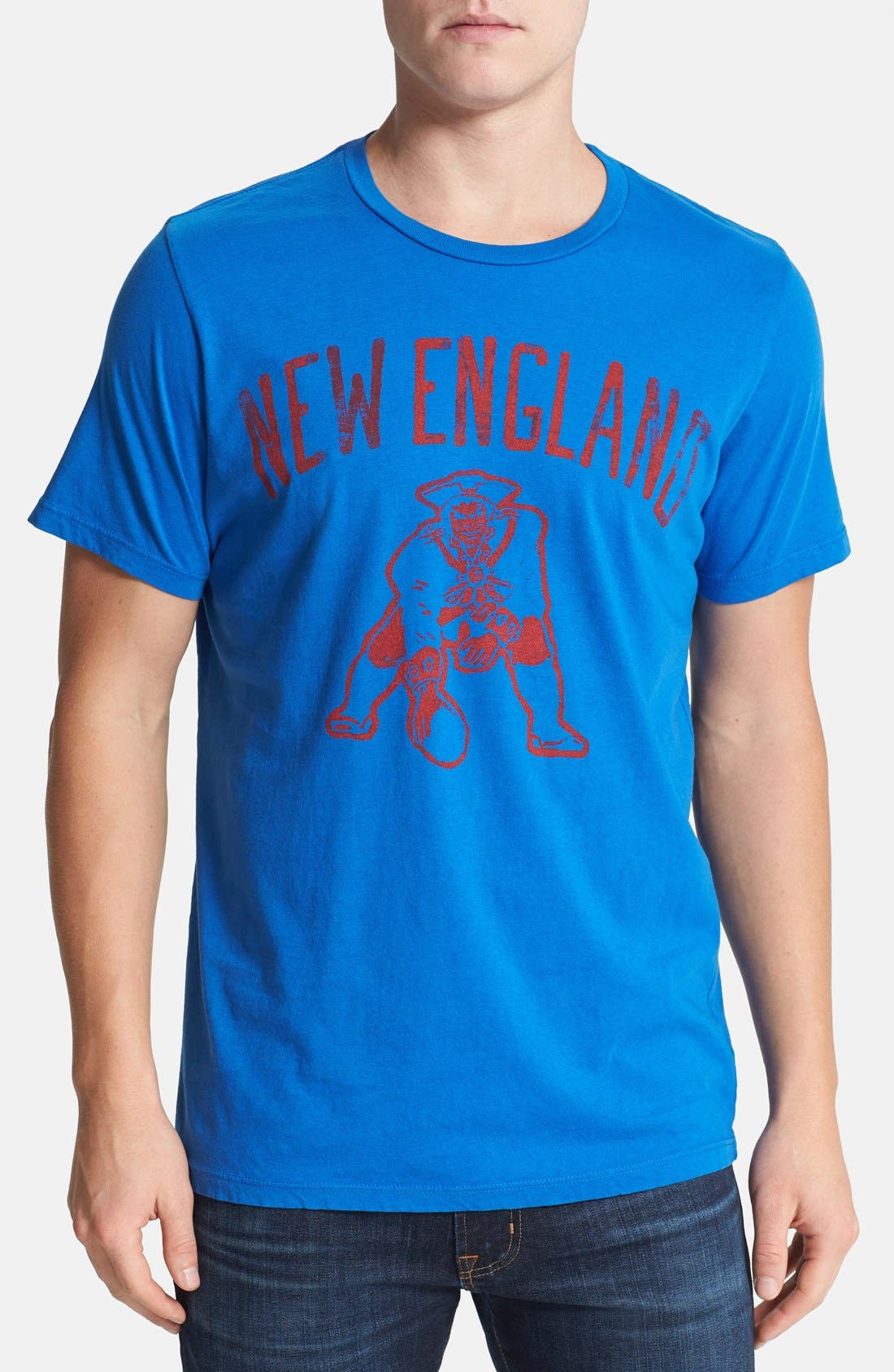 Alternate Image 1 Selected - Junk Food 'New England Patriots' Graphic T-Shirt