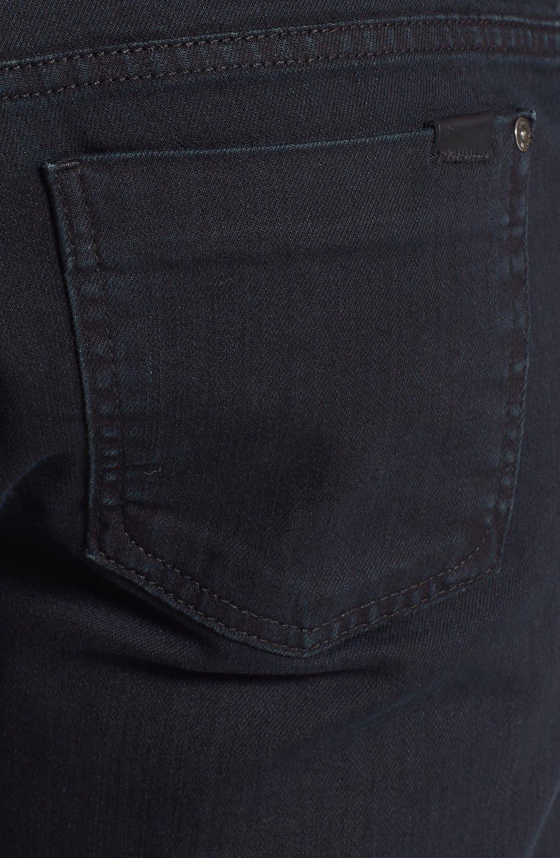 Alternate Image 4  - Fidelity Denim '50-11' Straight Leg Jeans (Town Black Vintage)
