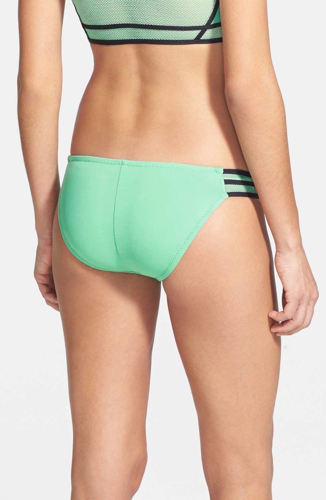 Alternate Image 2  - Becca 'Mesh Tech' Bikini Bottoms