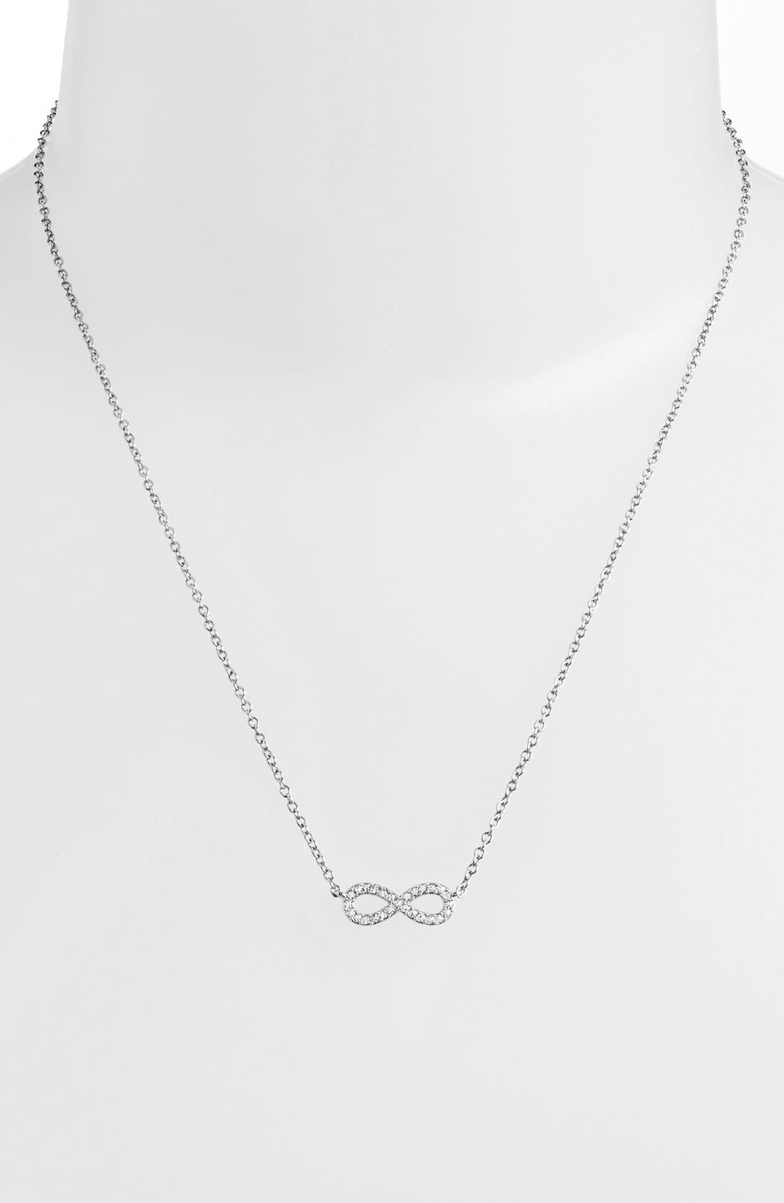 Alternate Image 2  - Nadri Infinity Symbol Pendant Necklace