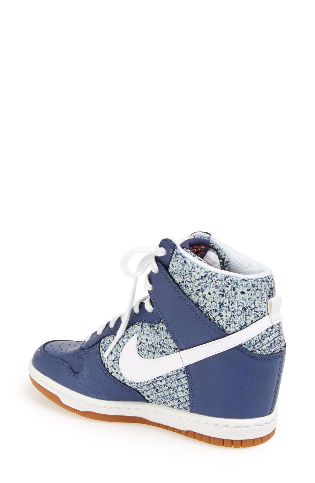 Alternate Image 2  - Nike 'Dunk Sky Hi Liberty' Hidden Wedge Sneaker (Women)