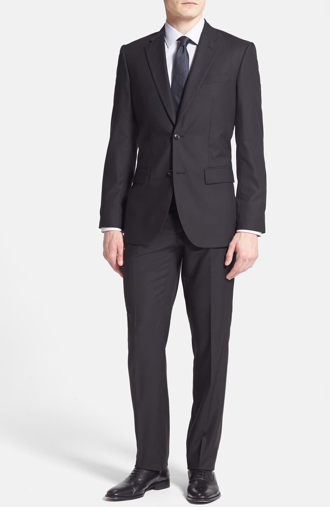 Alternate Image 1 Selected - Rockin' Sartorial Trim Fit Wrinkle Resistant Travel Suit