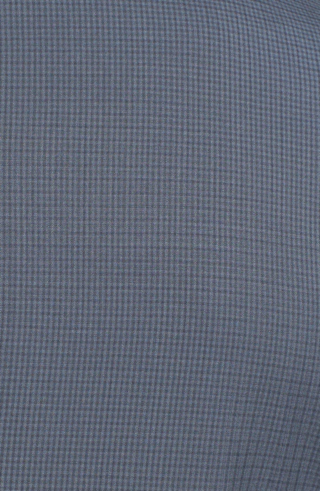 Alternate Image 5  - Ted Baker London 'Jones' Trim Fit Check Suit (Online Only)