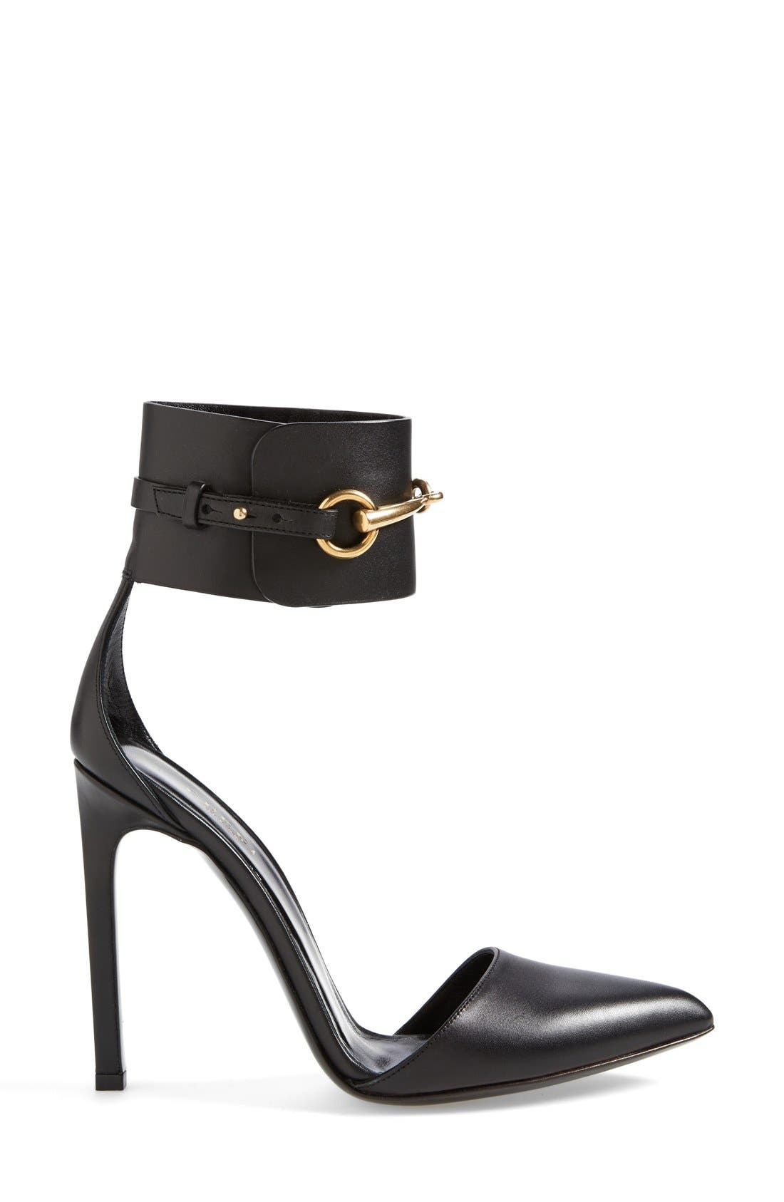 Alternate Image 4  - Gucci 'Ursula' Ankle Strap Pump (Women)