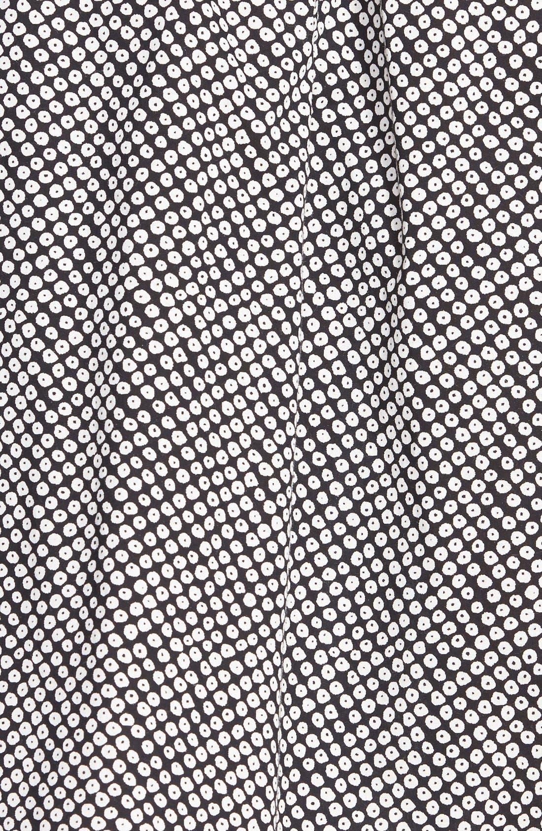 Alternate Image 3  - Eileen Fisher Bandhini Print Organic Cotton Skirt