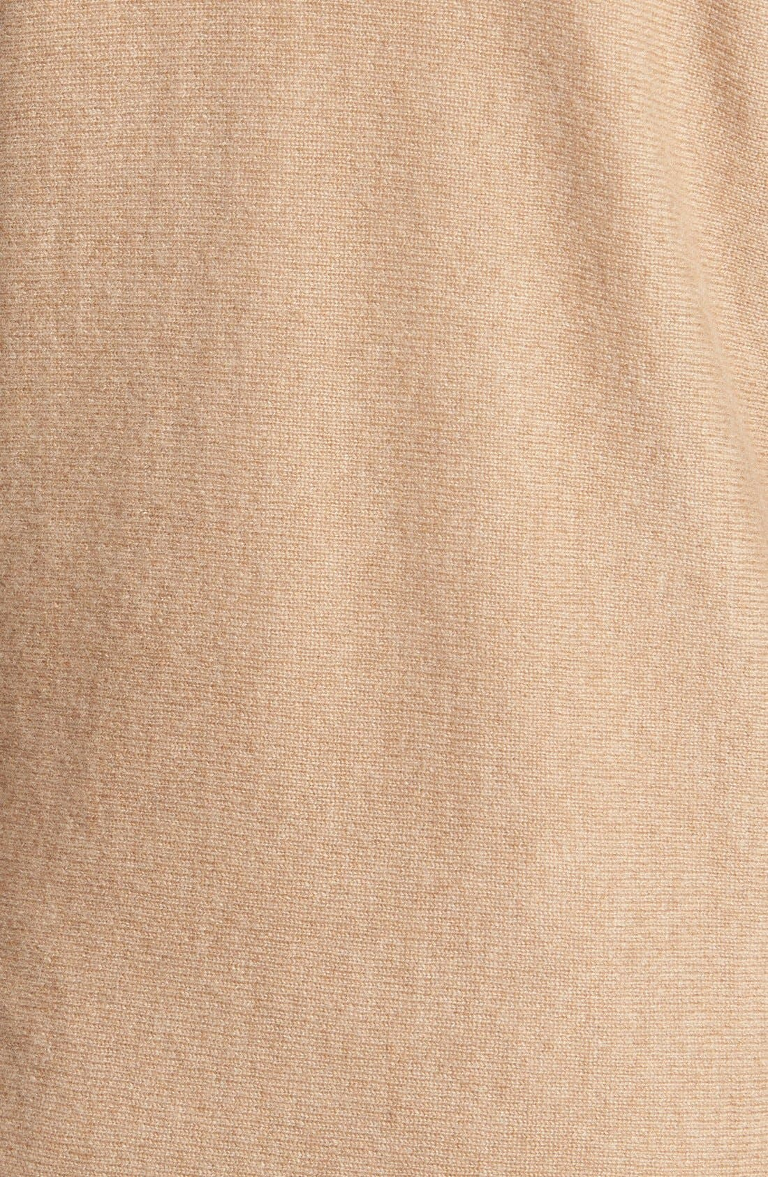 Alternate Image 3  - Halogen® High/Low Cashmere Tunic Sweater