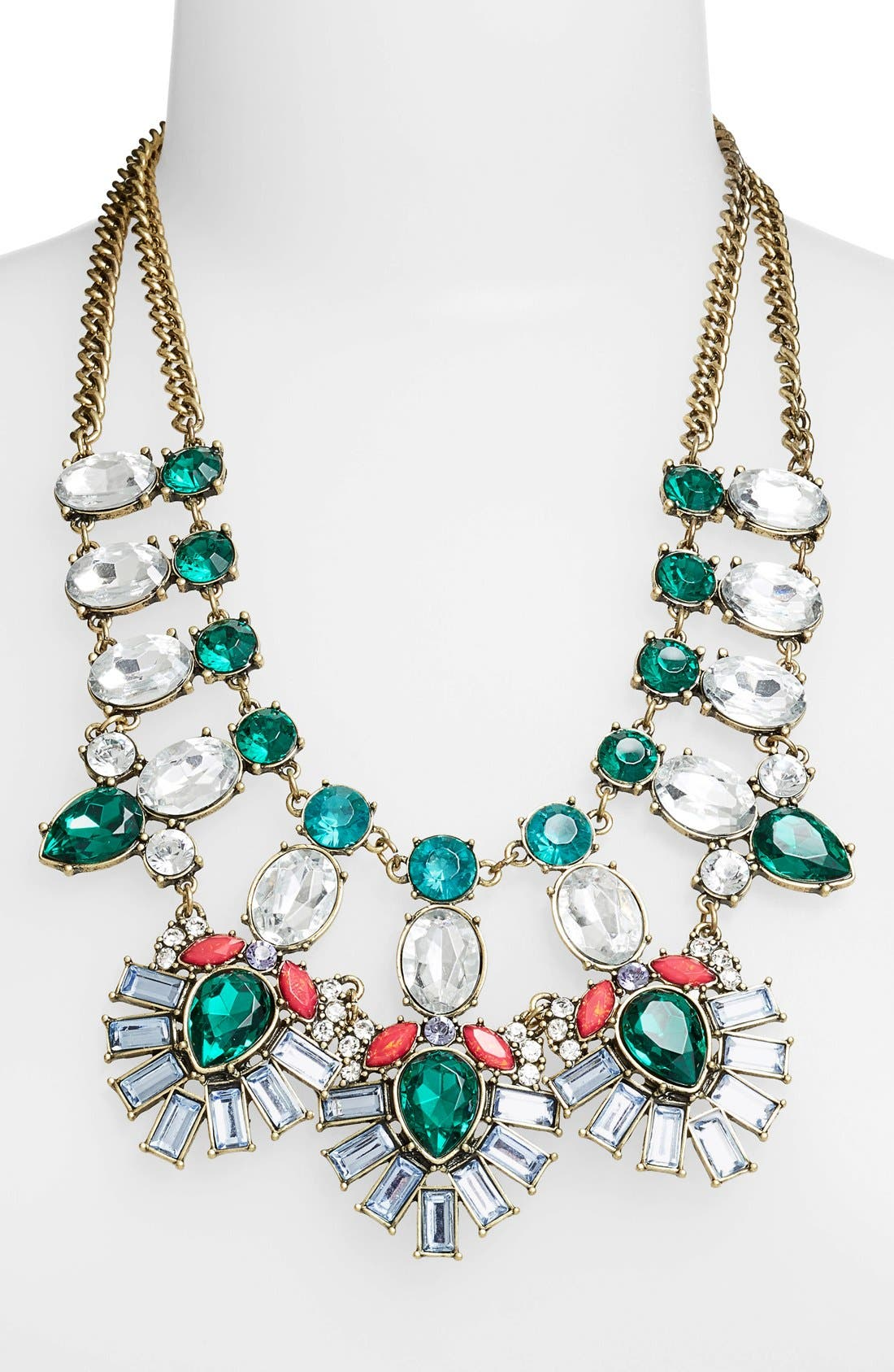Alternate Image 2  - BaubleBar 'Drama' Mixed Stone Statement Necklace (Nordstrom Exclusive)
