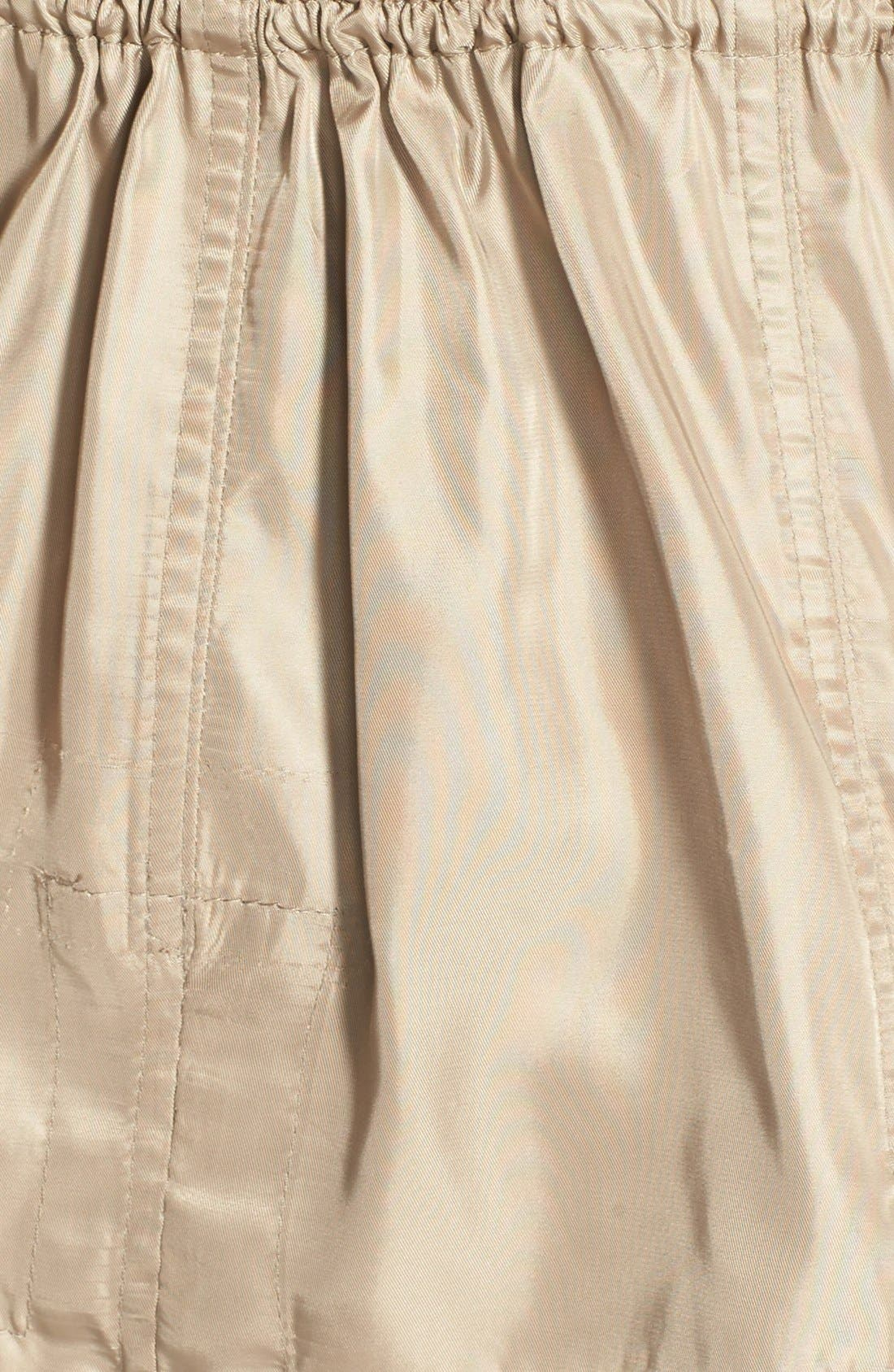 Alternate Image 3  - Vince Camuto Quilt Detail Short Anorak (Petite)