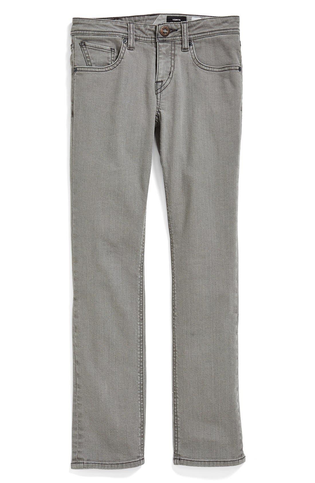 Alternate Image 2  - Volcom 'Vorta' Slim Fit Jeans (Big Boys)