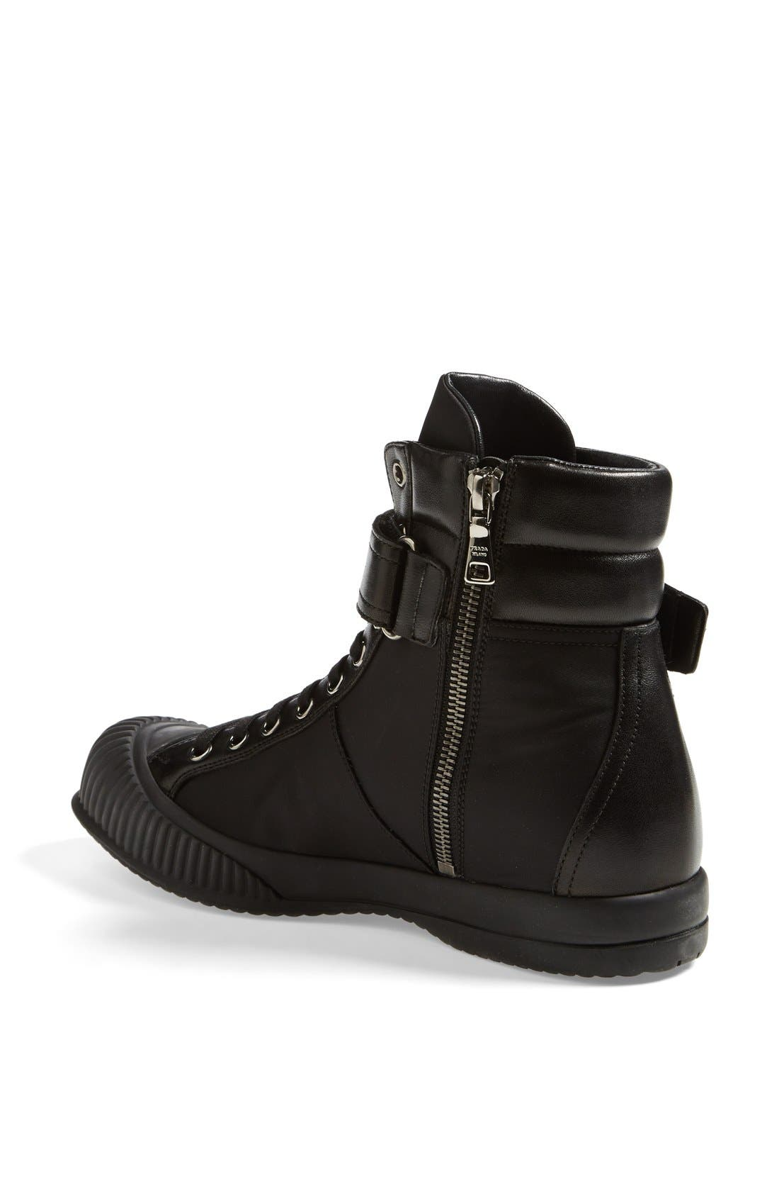 Alternate Image 2  - Prada Sport High Top Sneaker (Women)
