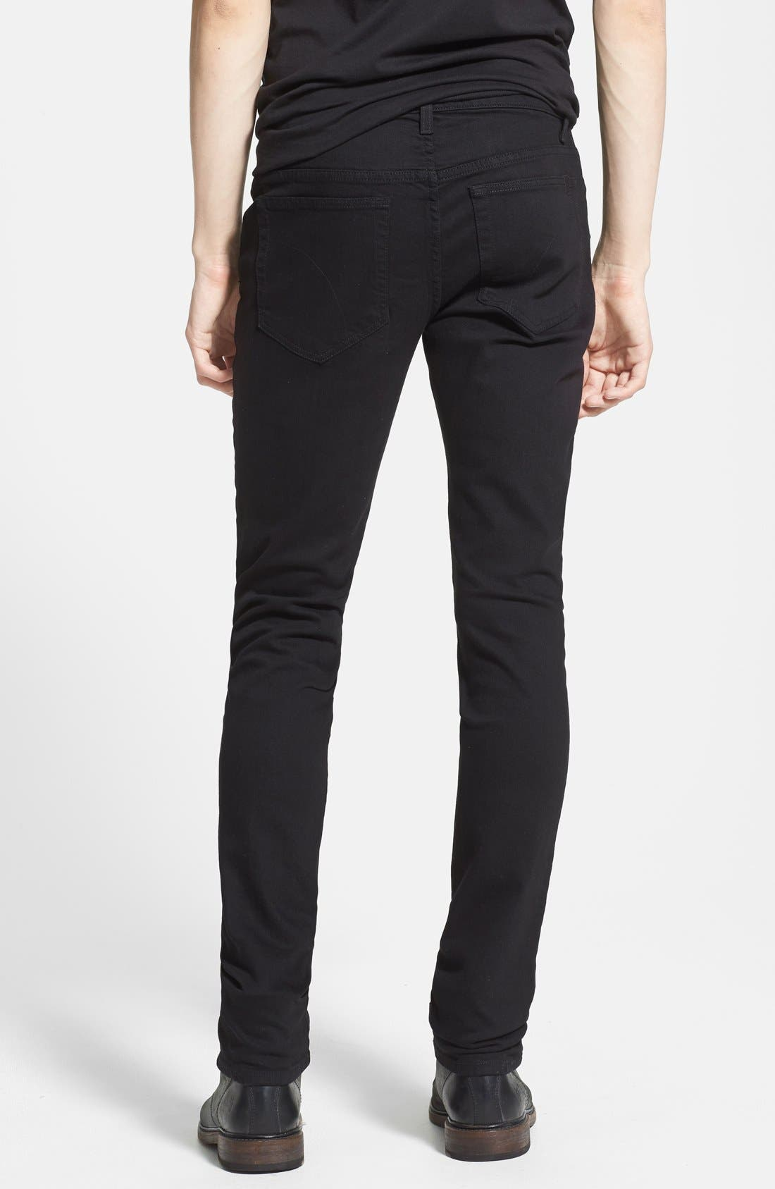 Alternate Image 2  - Joe's 'Slim' Skinny Fit Jeans (Jet Black)