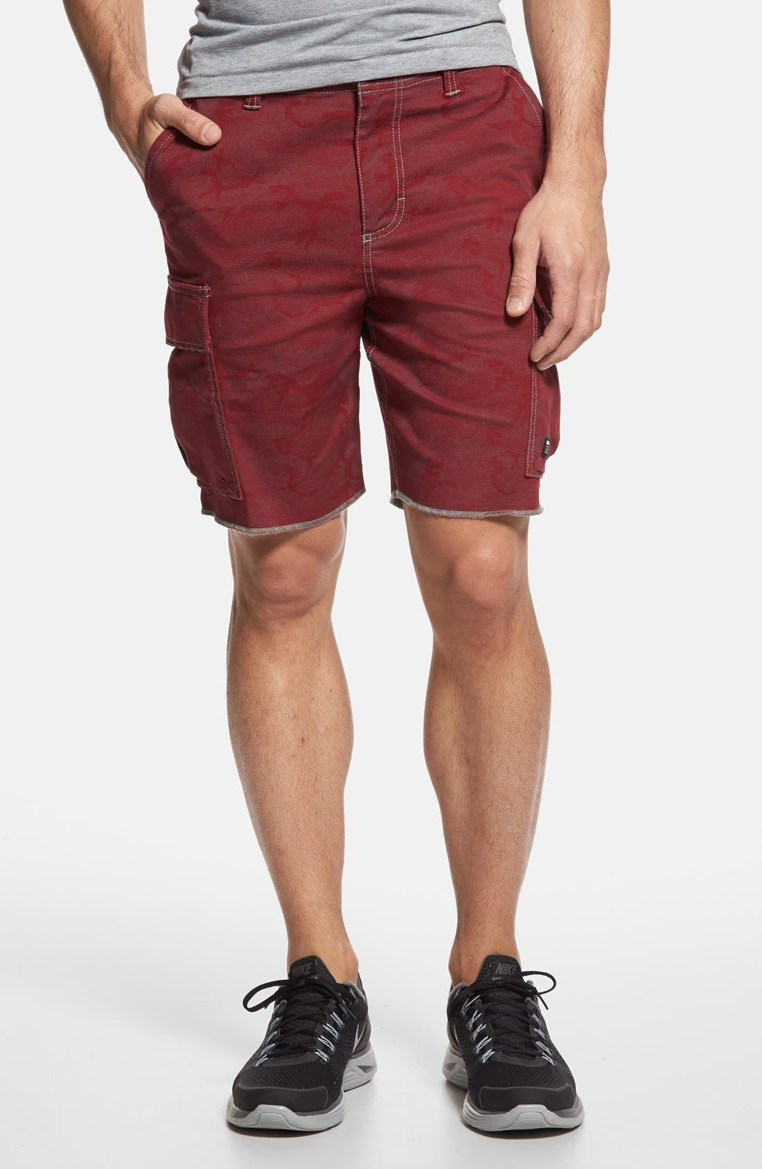 Main Image - Nike SB 'Hawthorne' Camo Cargo Shorts