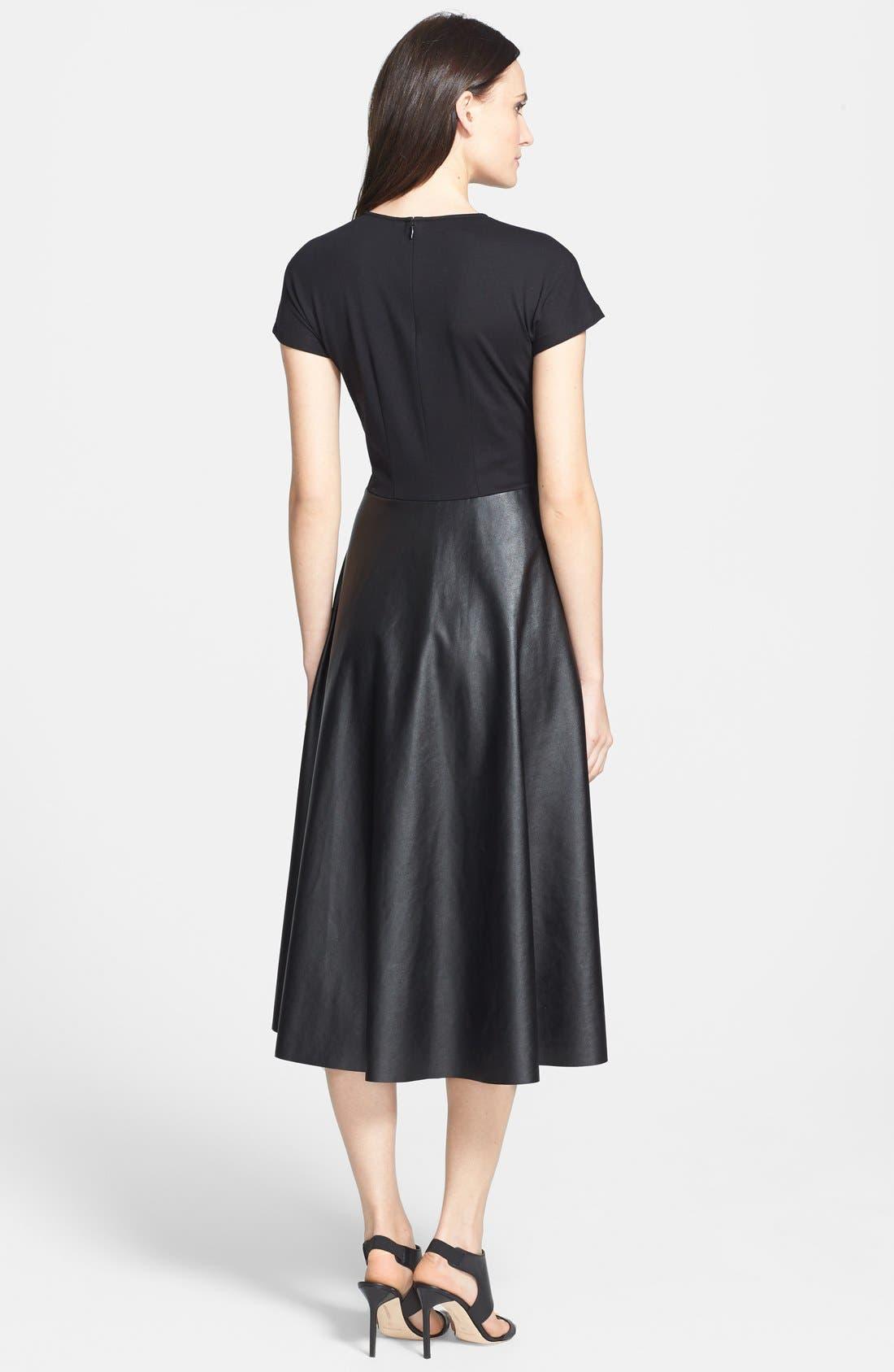 Alternate Image 2  - Lafayette 148 New York 'Mirna - Neo Tech' Dress