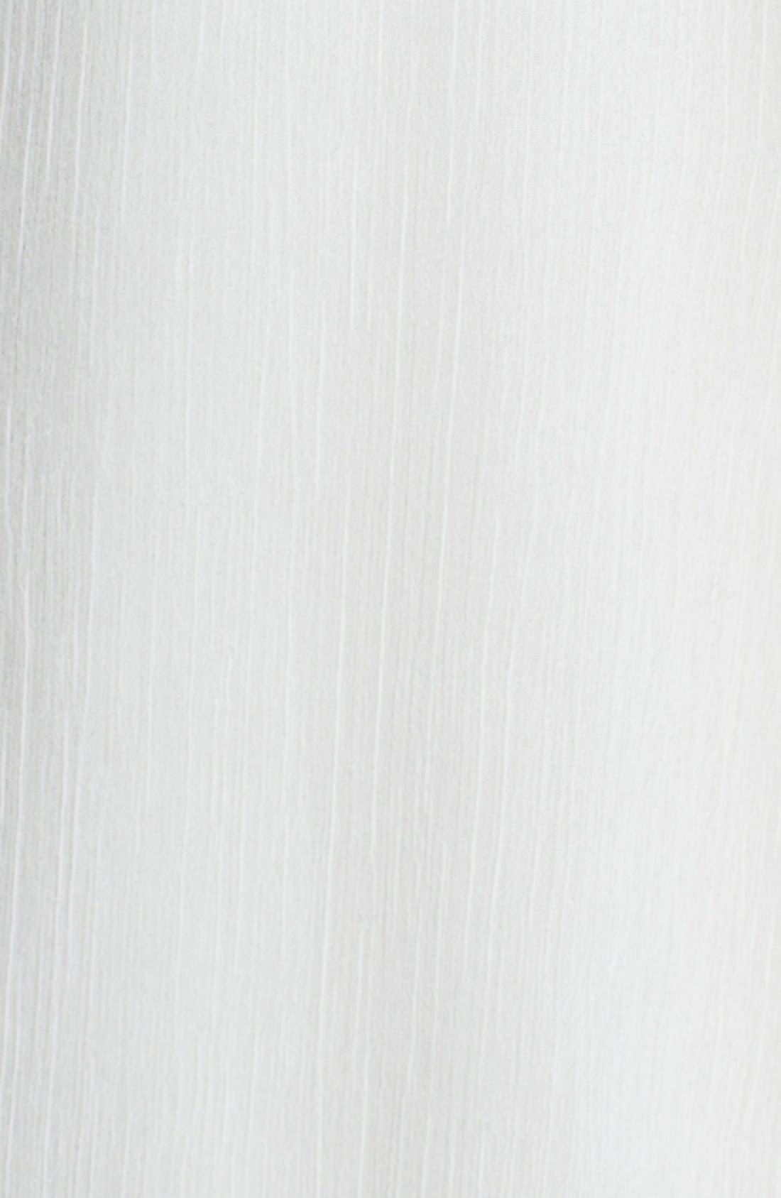 Alternate Image 3  - ECI Embroidered Crinkled Chiffon Blouse