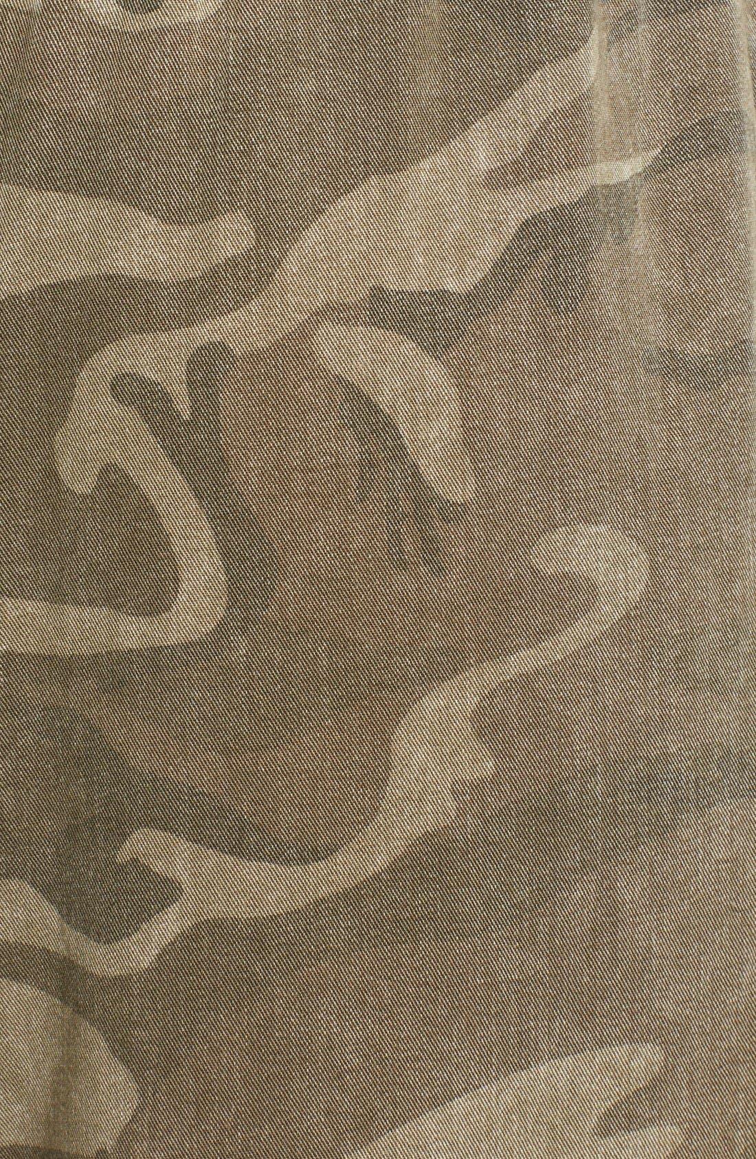 Alternate Image 3  - Current/Elliott Camo Print Drawstring Trousers