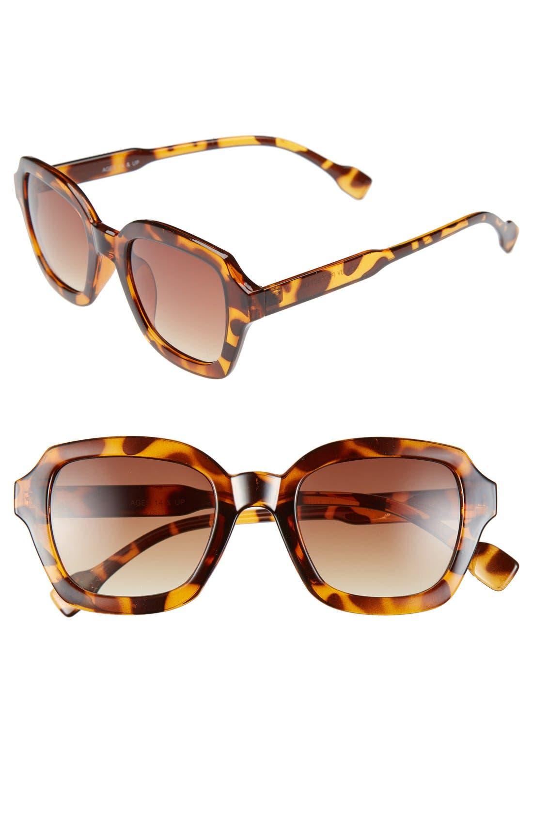 Alternate Image 1 Selected - FE NY 'Paige' 47mm Sunglasses