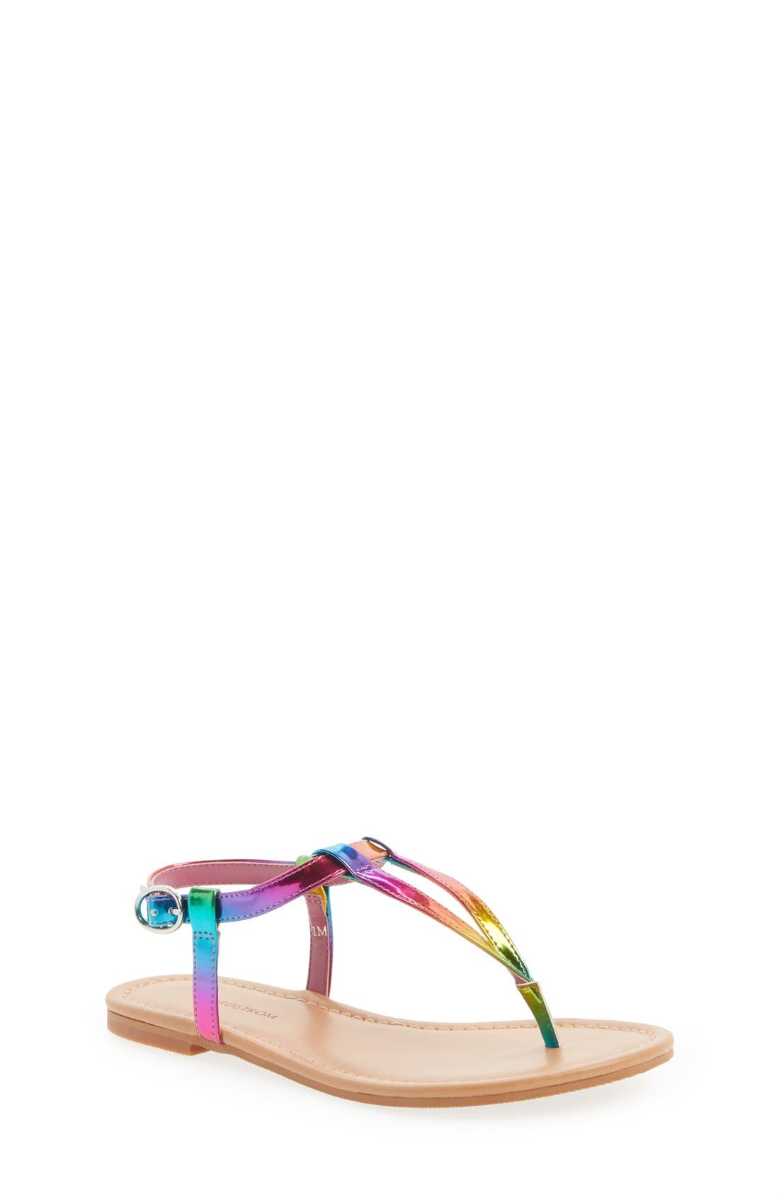Alternate Image 1 Selected - Nordstrom 'Audra' Sandal (Toddler, Little Kid & Big Kid)