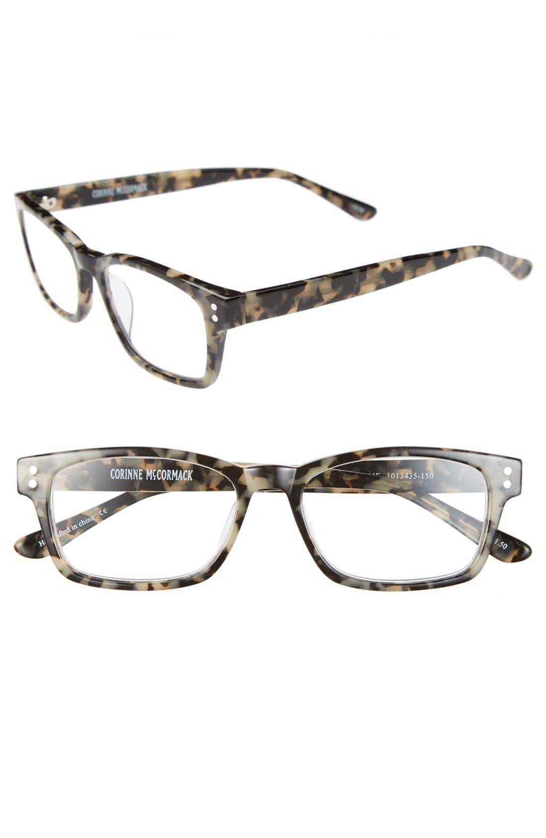 Alternate Image 1 Selected - Corinne McCormack 'Edie' 51mm Reading Glasses