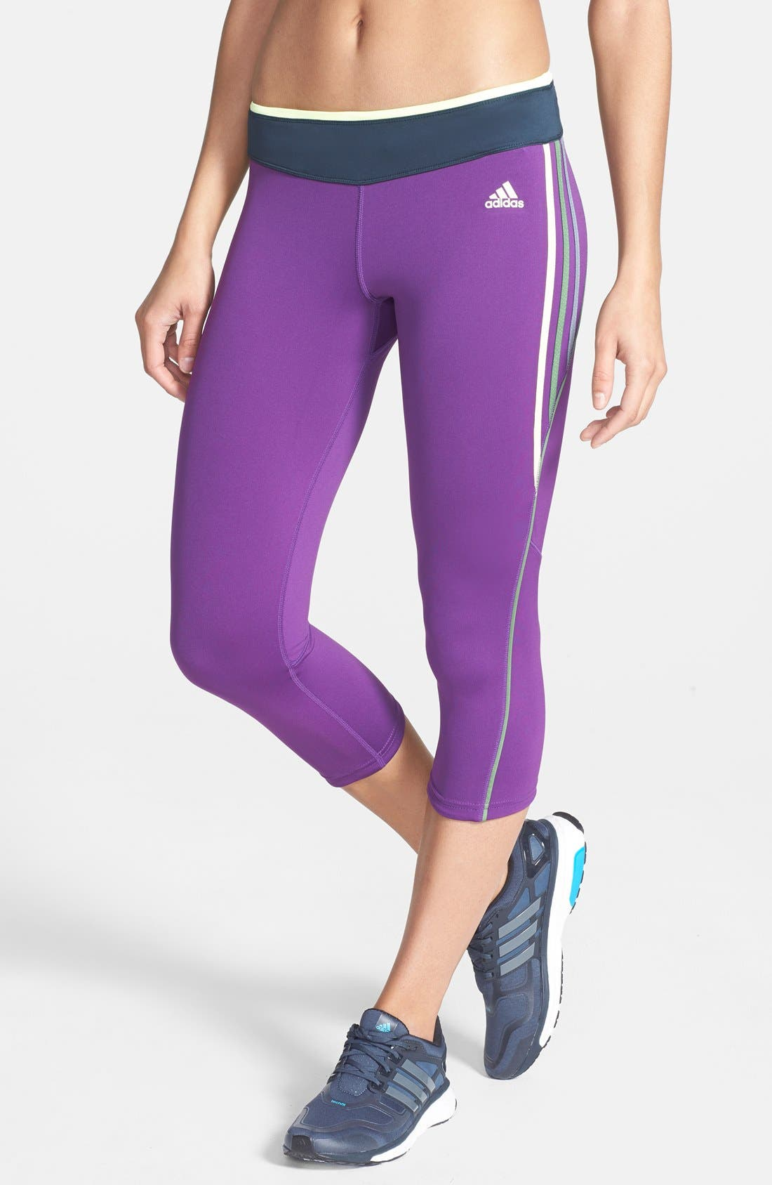 Alternate Image 1 Selected - adidas 'AKTIV' Three Quarter Tights