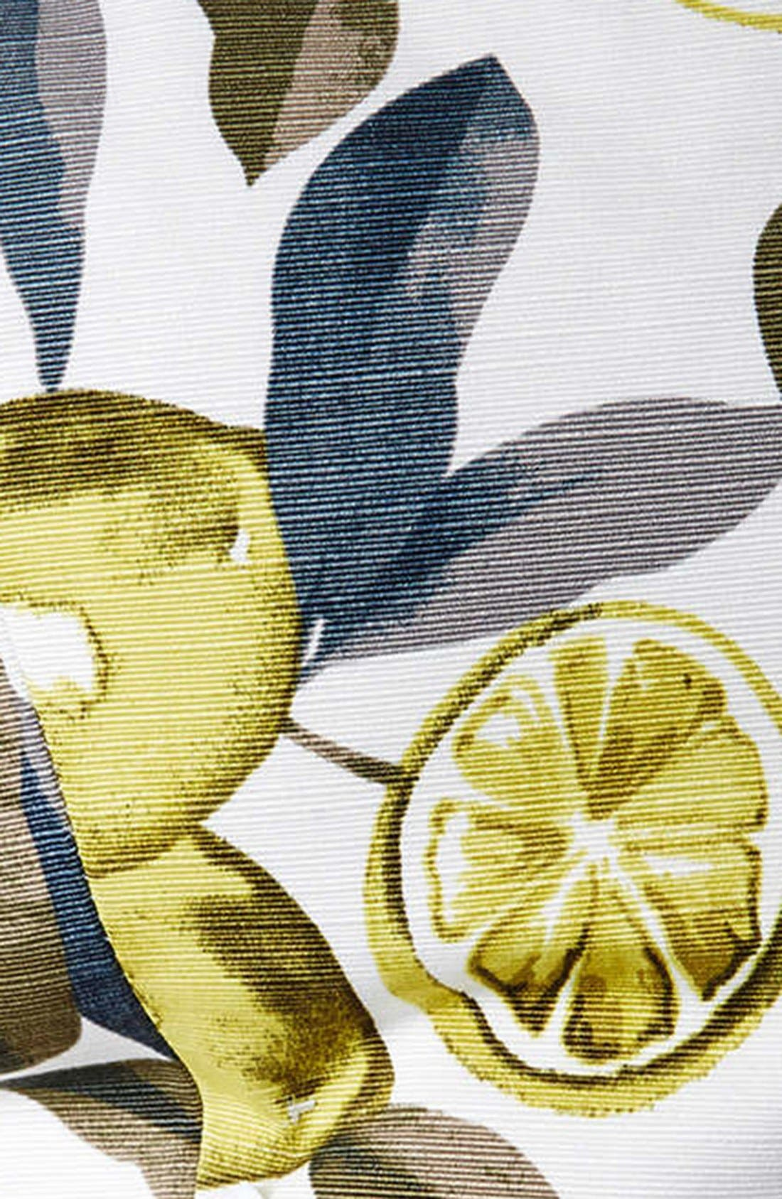 Alternate Image 4  - Topshop Lemon Print Scuba Tube Top (Petite)
