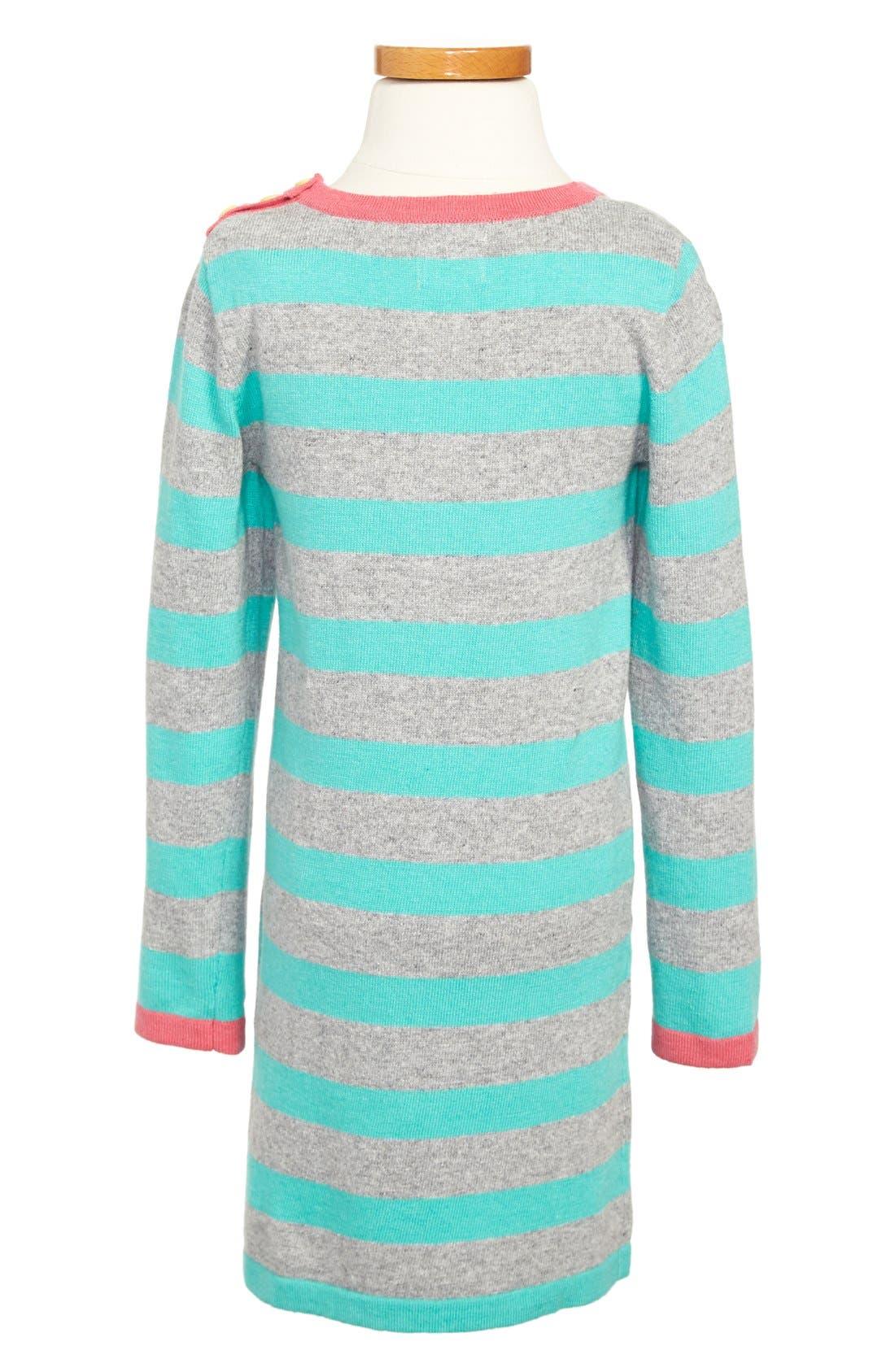 Alternate Image 2  - Mini Boden Stripy Knit Dress (Toddler Girls, Little Girls & Big Girls)