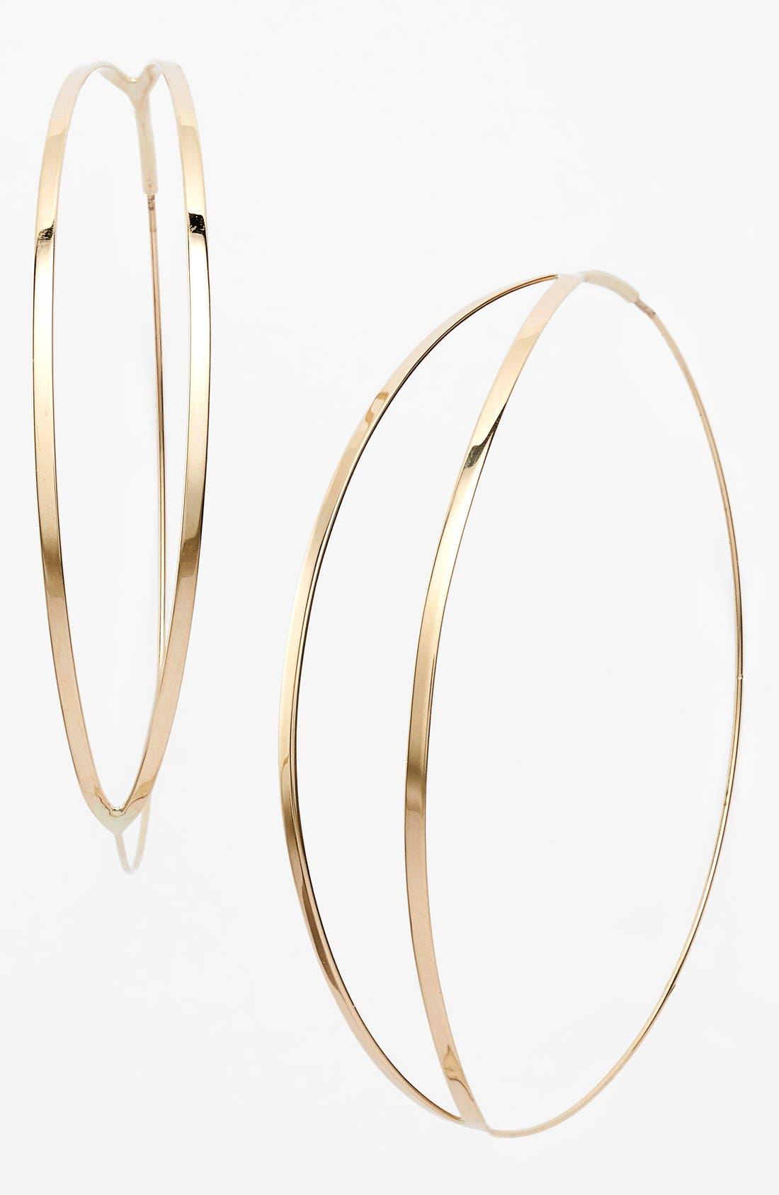 Alternate Image 1 Selected - Lana Jewelry 'Large Flirt' Hoop Earrings