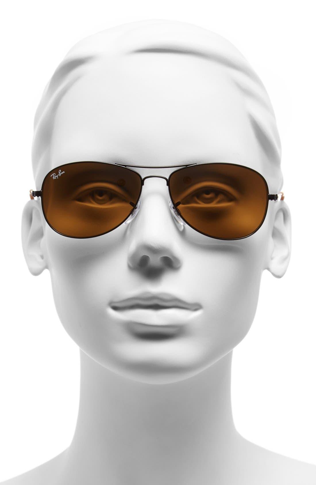 Alternate Image 2  - Ray-Ban 'New Classic' 56mm Aviator Sunglasses