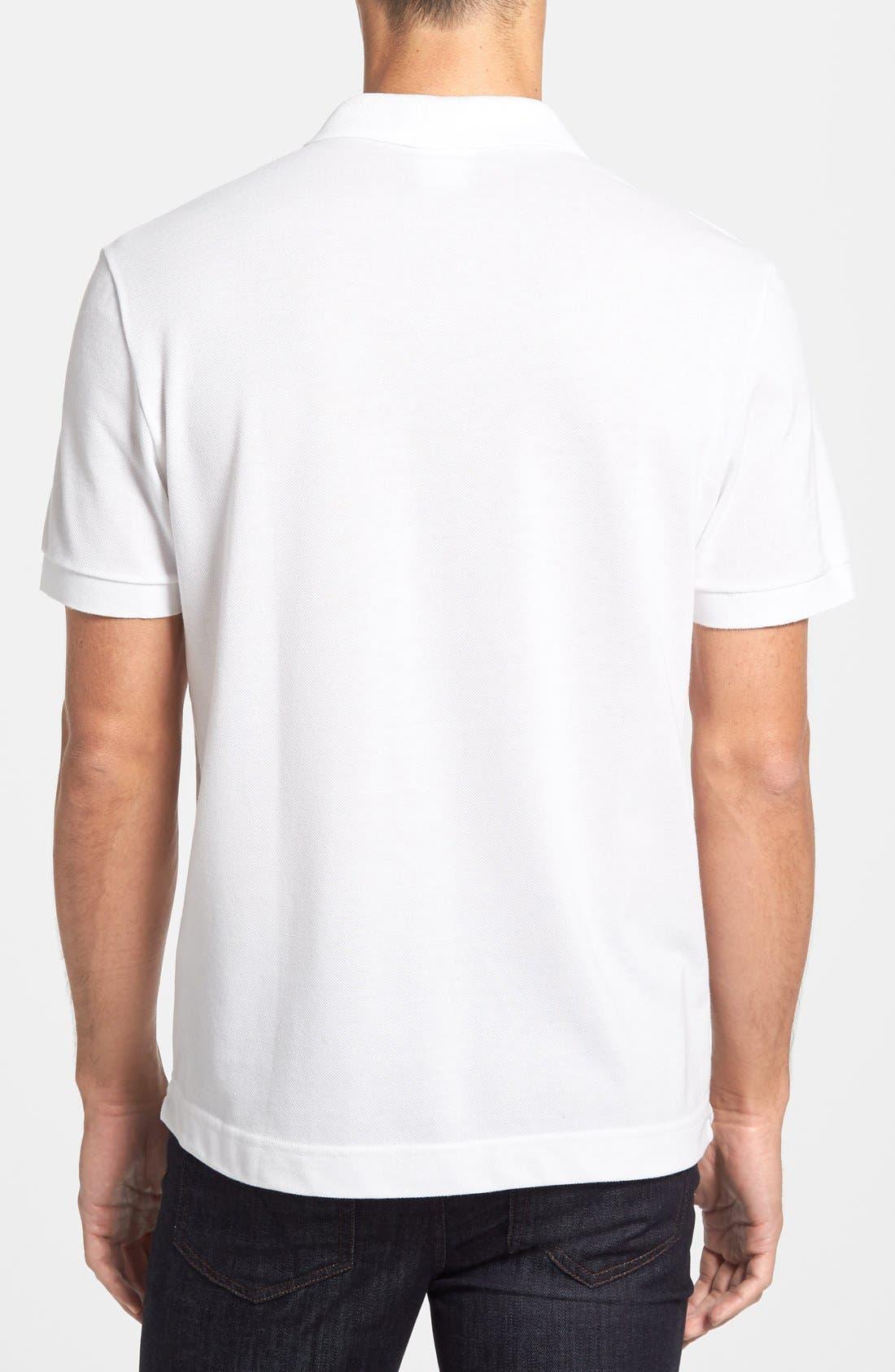 Alternate Image 2  - Lacoste 'White Croc' Regular Fit Piqué Polo