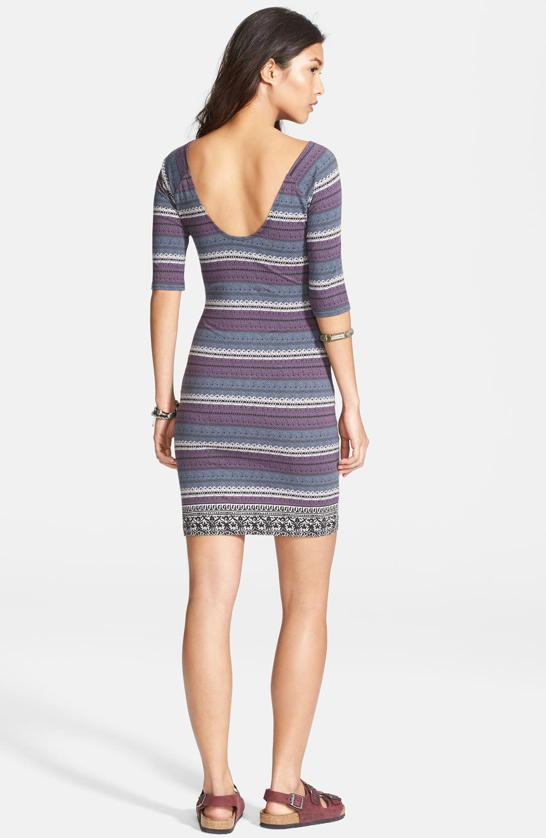 Alternate Image 2  - Free People Print Body-Con Dress
