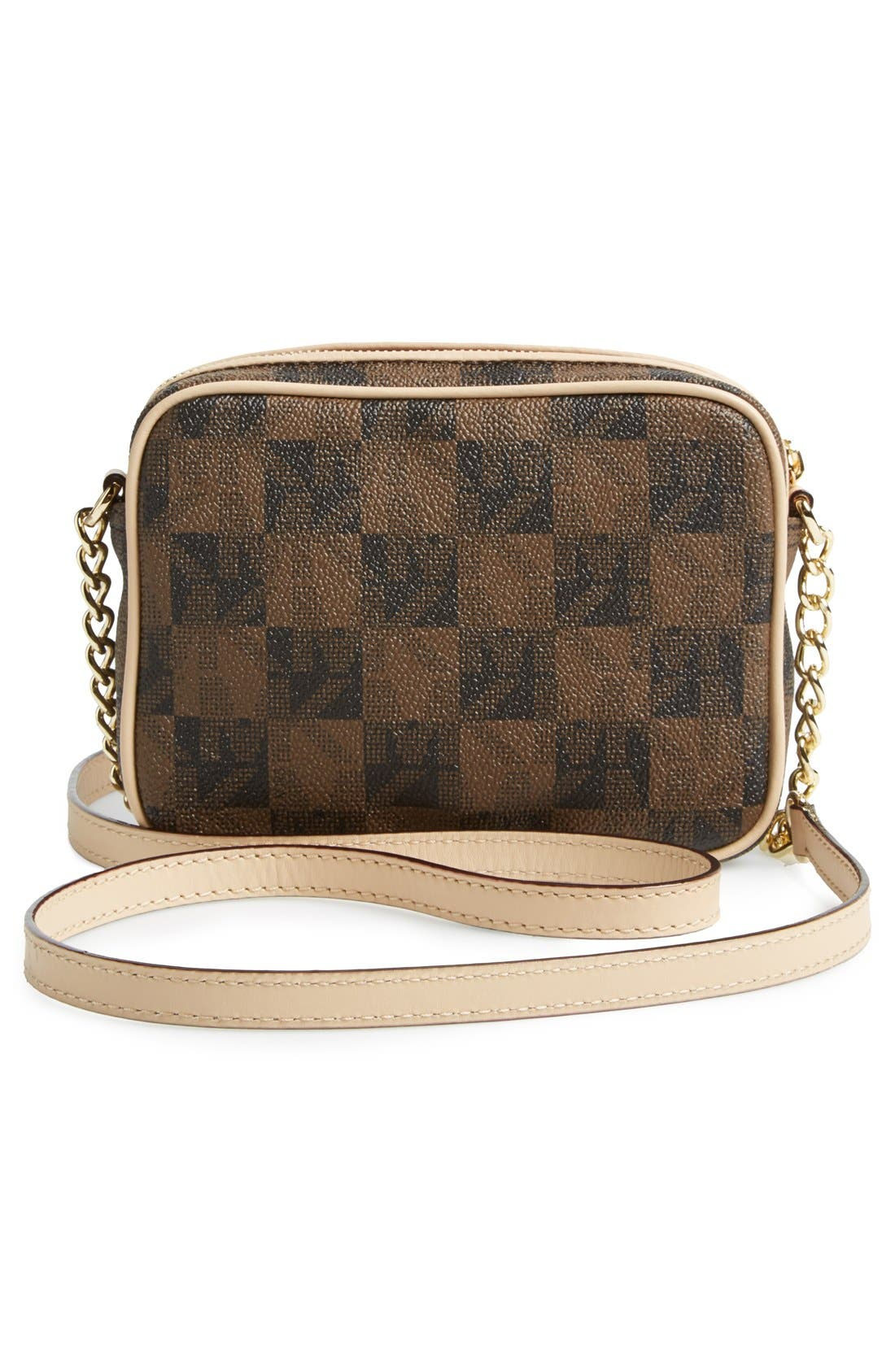 Alternate Image 4  - MICHAEL Michael Kors 'Small Jet Set Signature' Crossbody