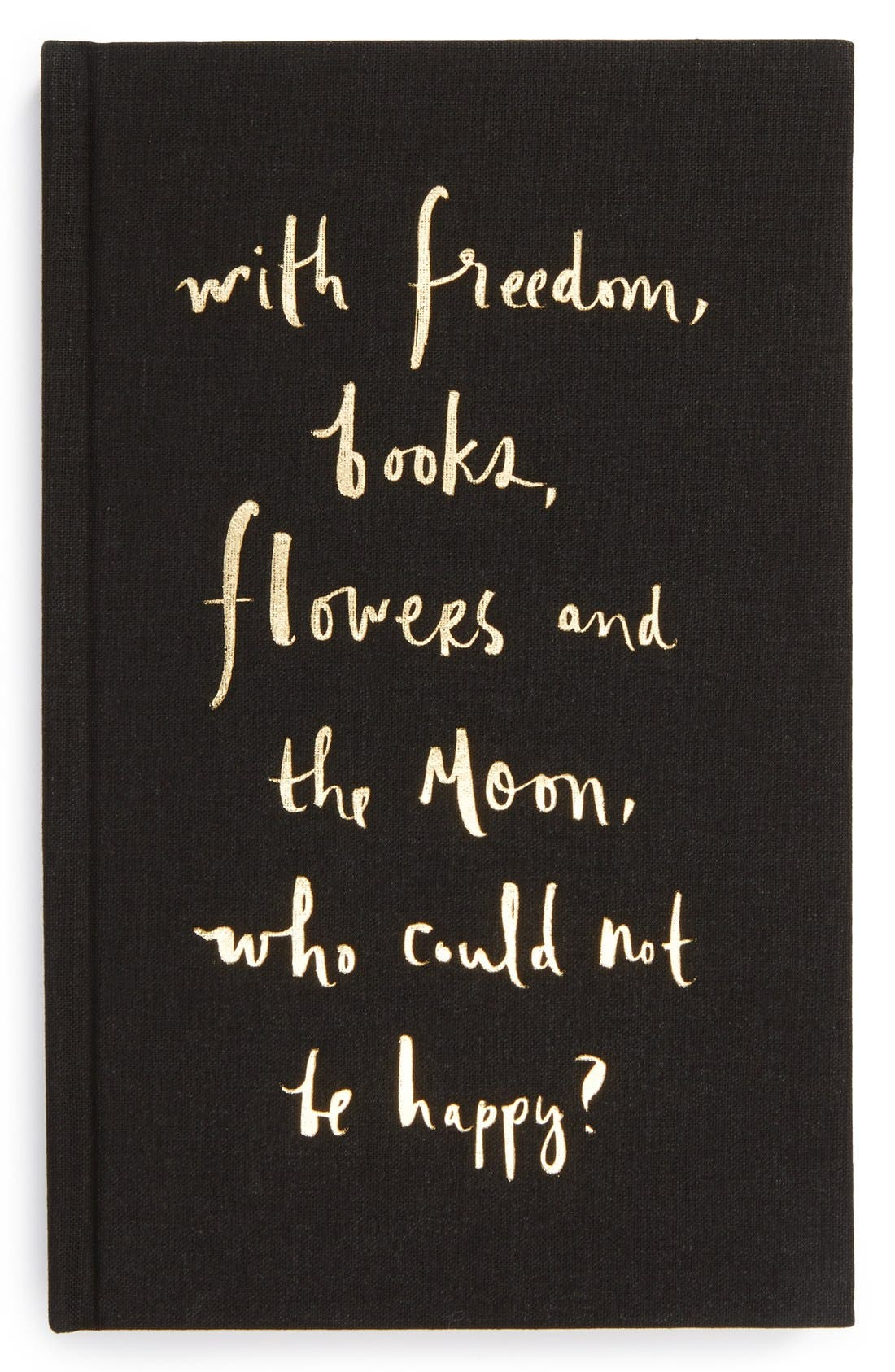 Alternate Image 1 Selected - kate spade new york 'who could not be happy' journal