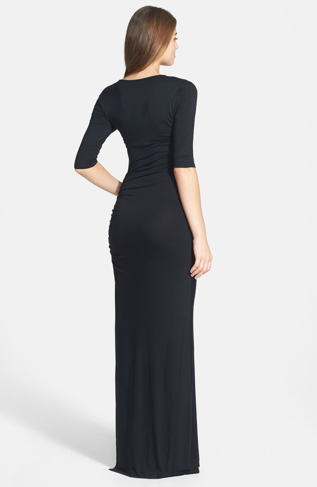 Alternate Image 2  - Felicity & Coco Shirred Jersey Maxi Dress (Nordstrom Exclusive)