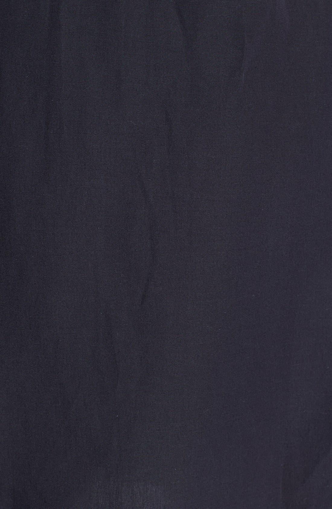 Alternate Image 3  - A.P.C. Drawstring Linen Blend Skirt