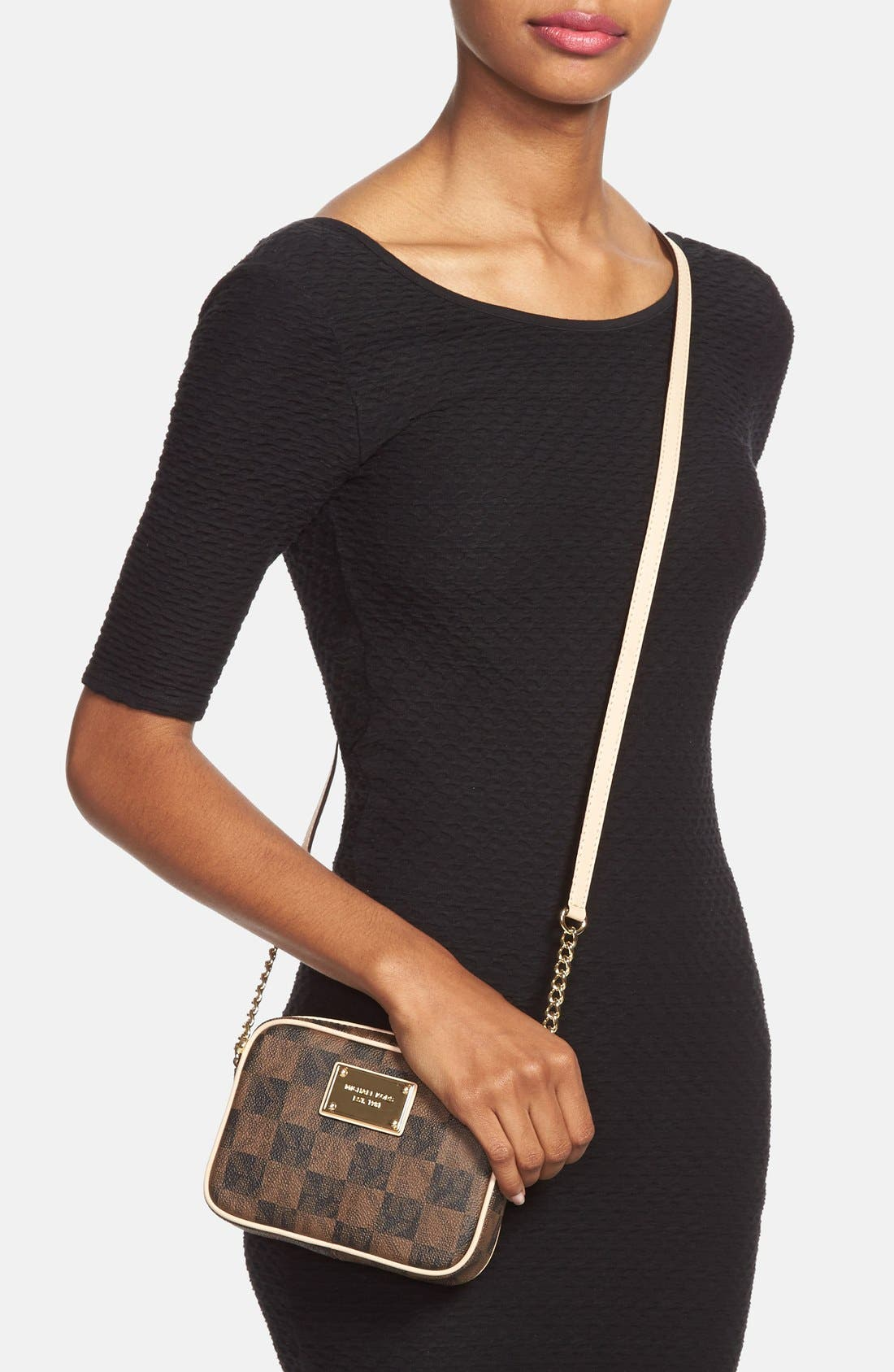 Alternate Image 2  - MICHAEL Michael Kors 'Small Jet Set Signature' Crossbody