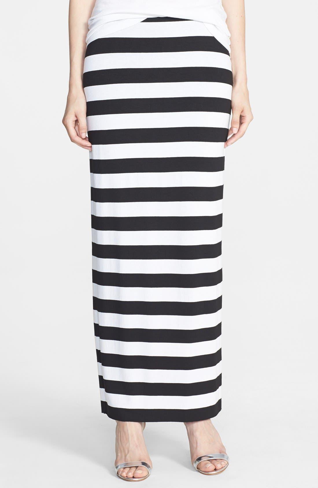 Main Image - Bailey 44 'Stella' Stripe Maxi Skirt