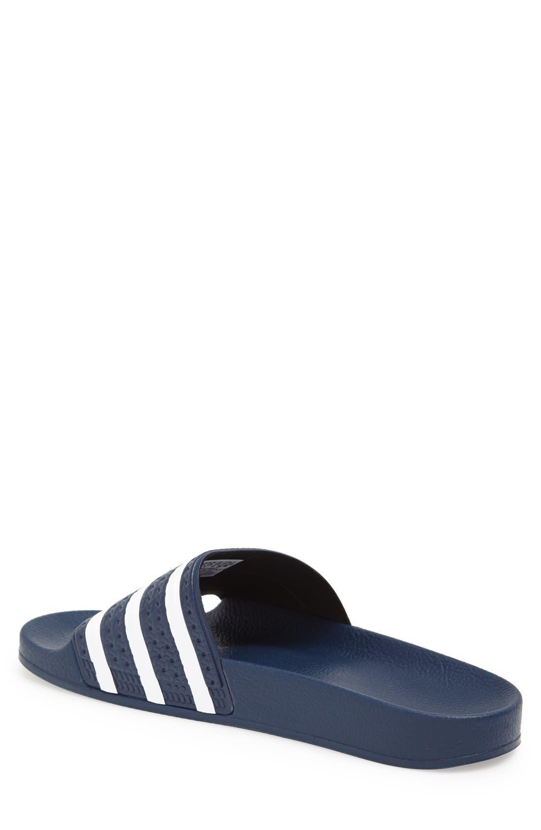 Alternate Image 2  - adidas 'Adilette' Slide Sandal (Men)