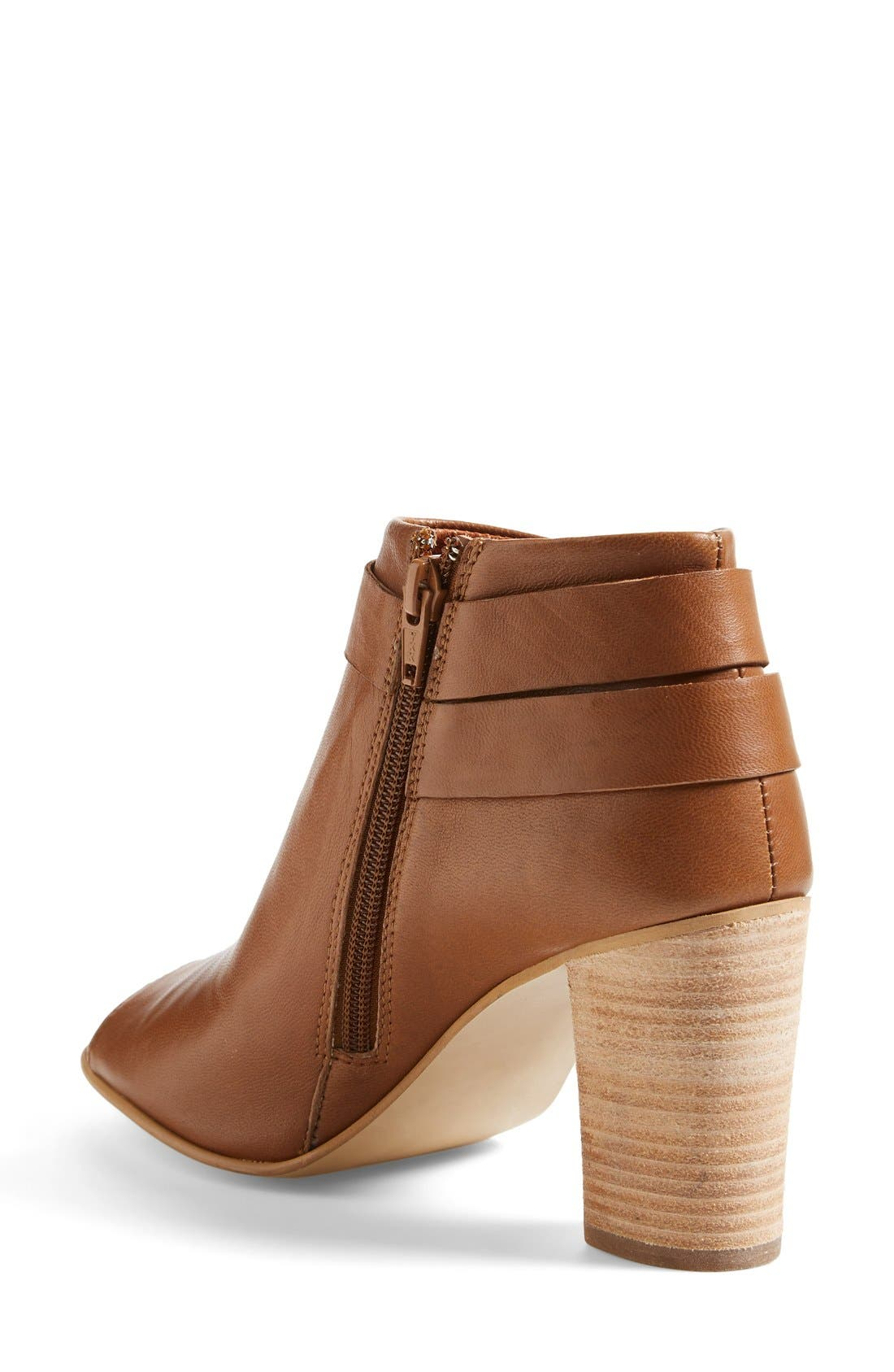 Alternate Image 2  - Steve Madden 'Now' Open Toe Bootie (Women)