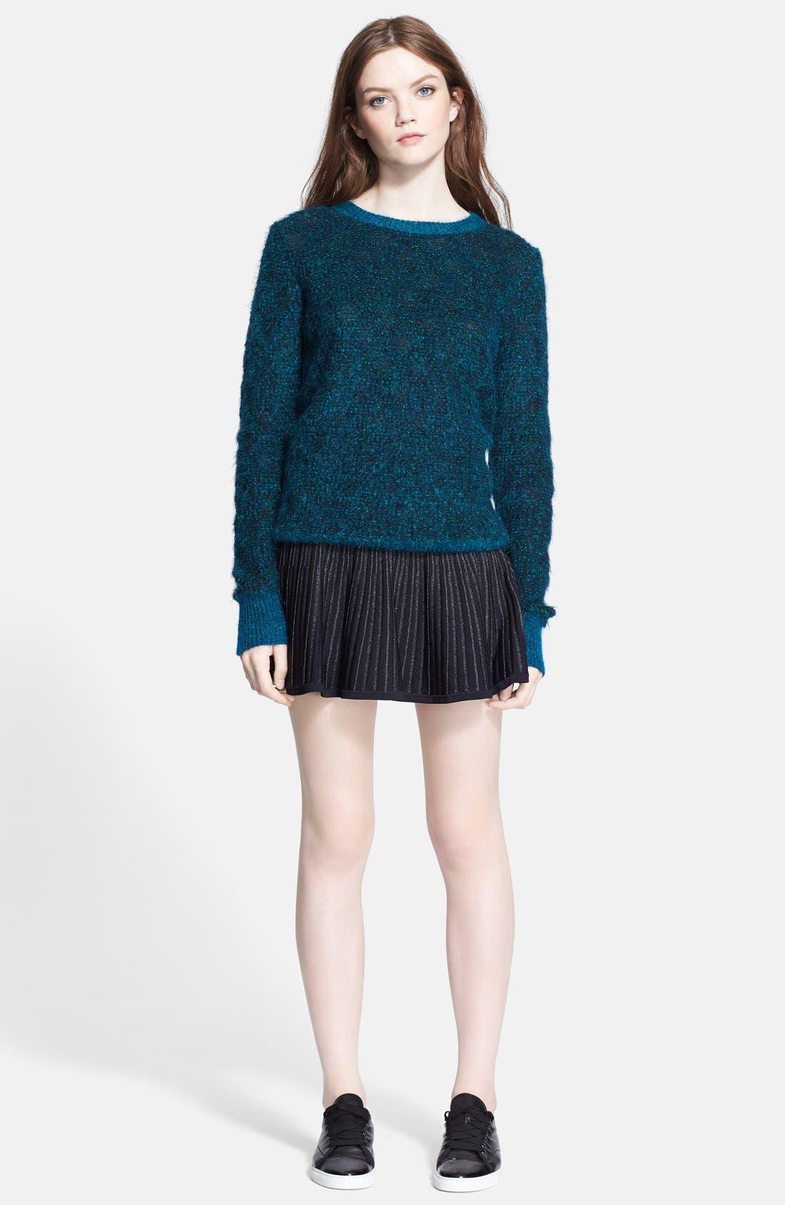 Alternate Image 3  - A.L.C. 'Adina' Metallic Mohair Sweater