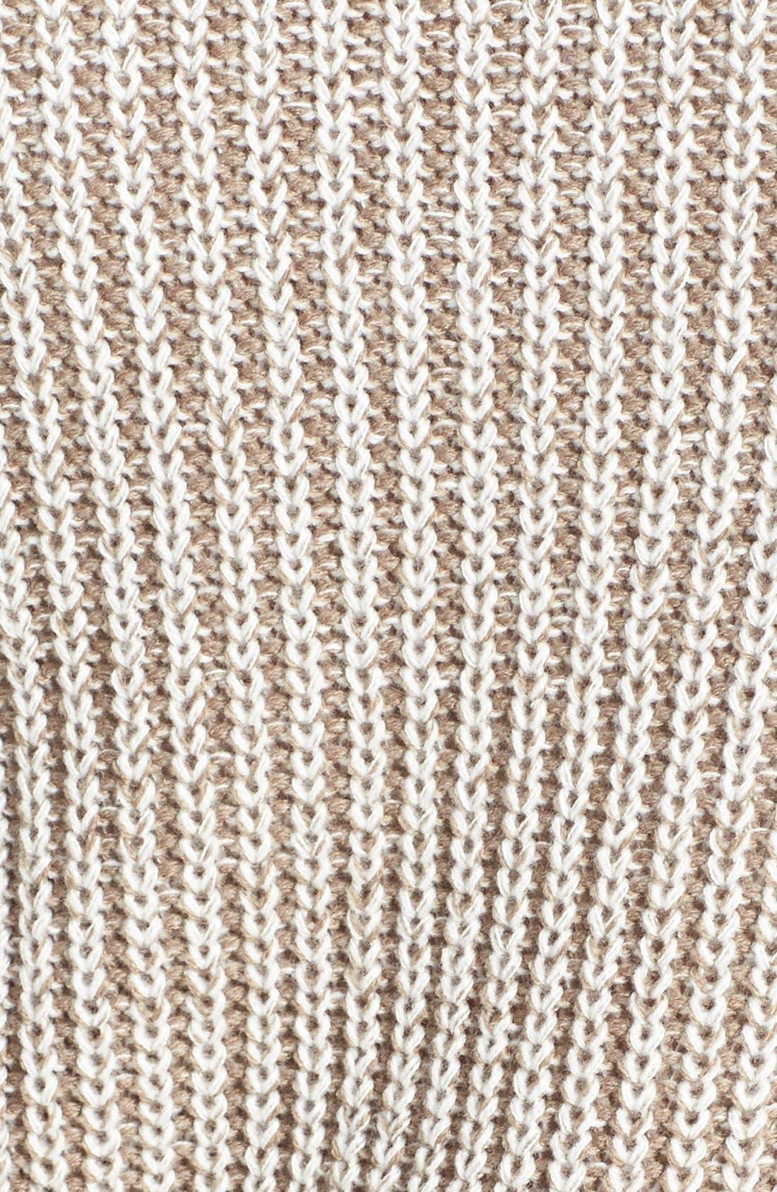 Alternate Image 3  - Halogen® Marled Crewneck Sweater