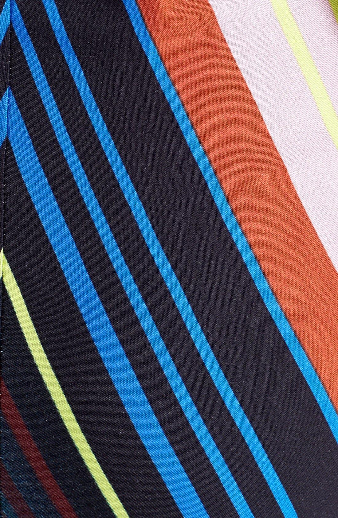 Alternate Image 3  - Felicity & Coco Stripe Jersey Halter Dress (Regular & Petite) (Nordstrom Exclusive)